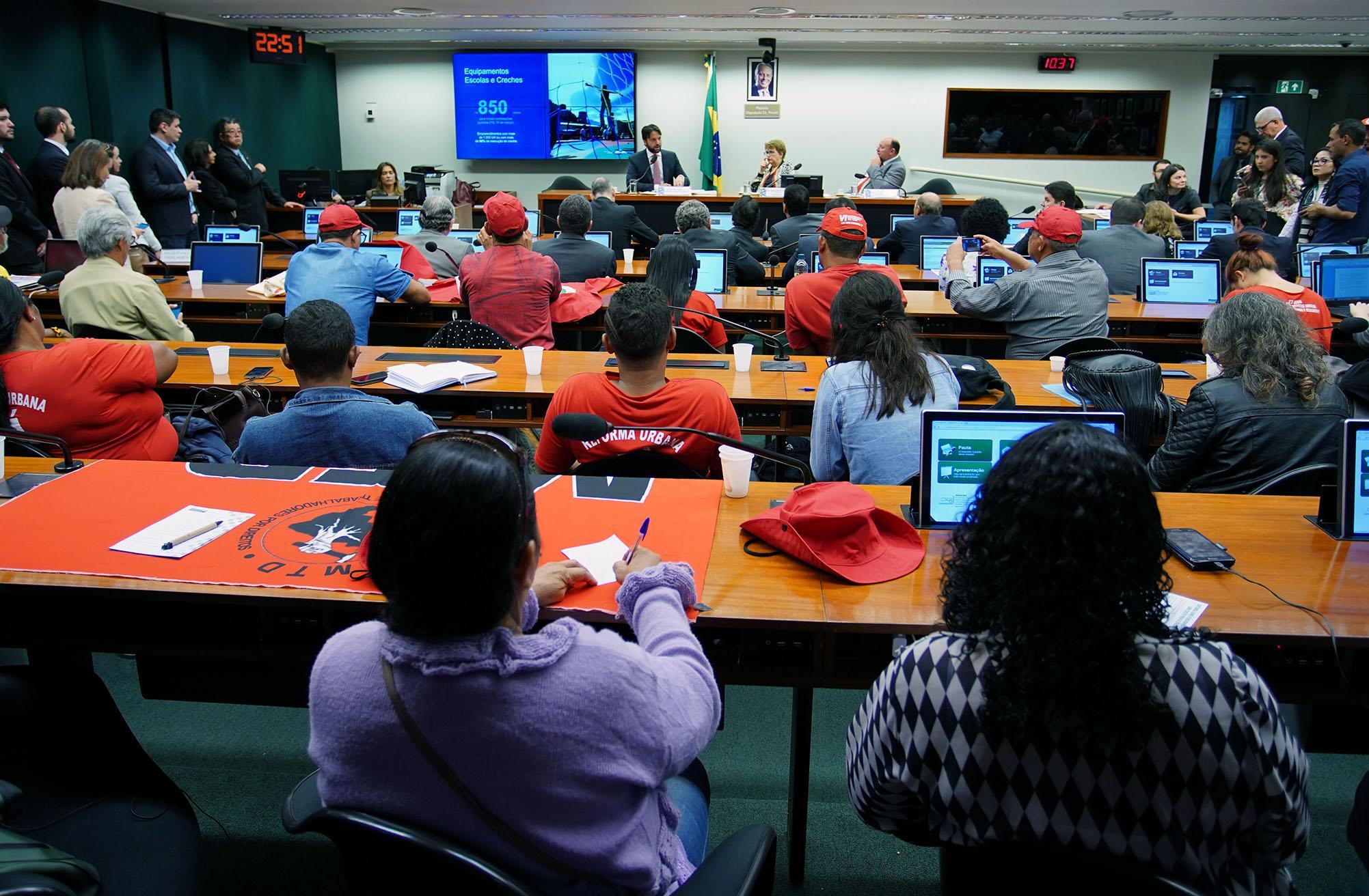 Audiência pública para a exposição do plano de trabalho do Ministério das Cidades para o ano de 2018