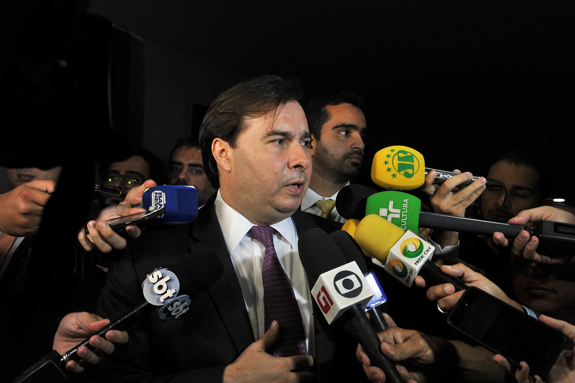 Entrevista com o presidente da Câmara dos Deputados, dep. Rodrigo Maia.