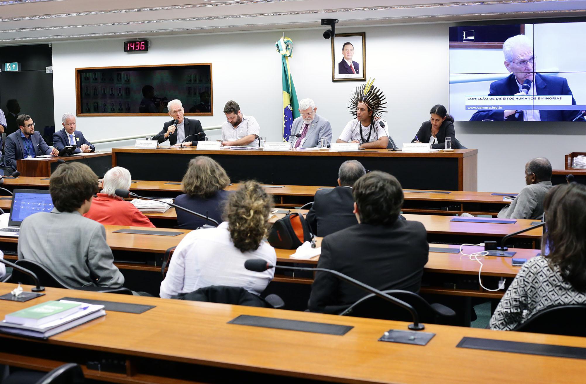 Audiência pública sobre a criminalização e ameaças contra defensores de direitos humanos no Brasil