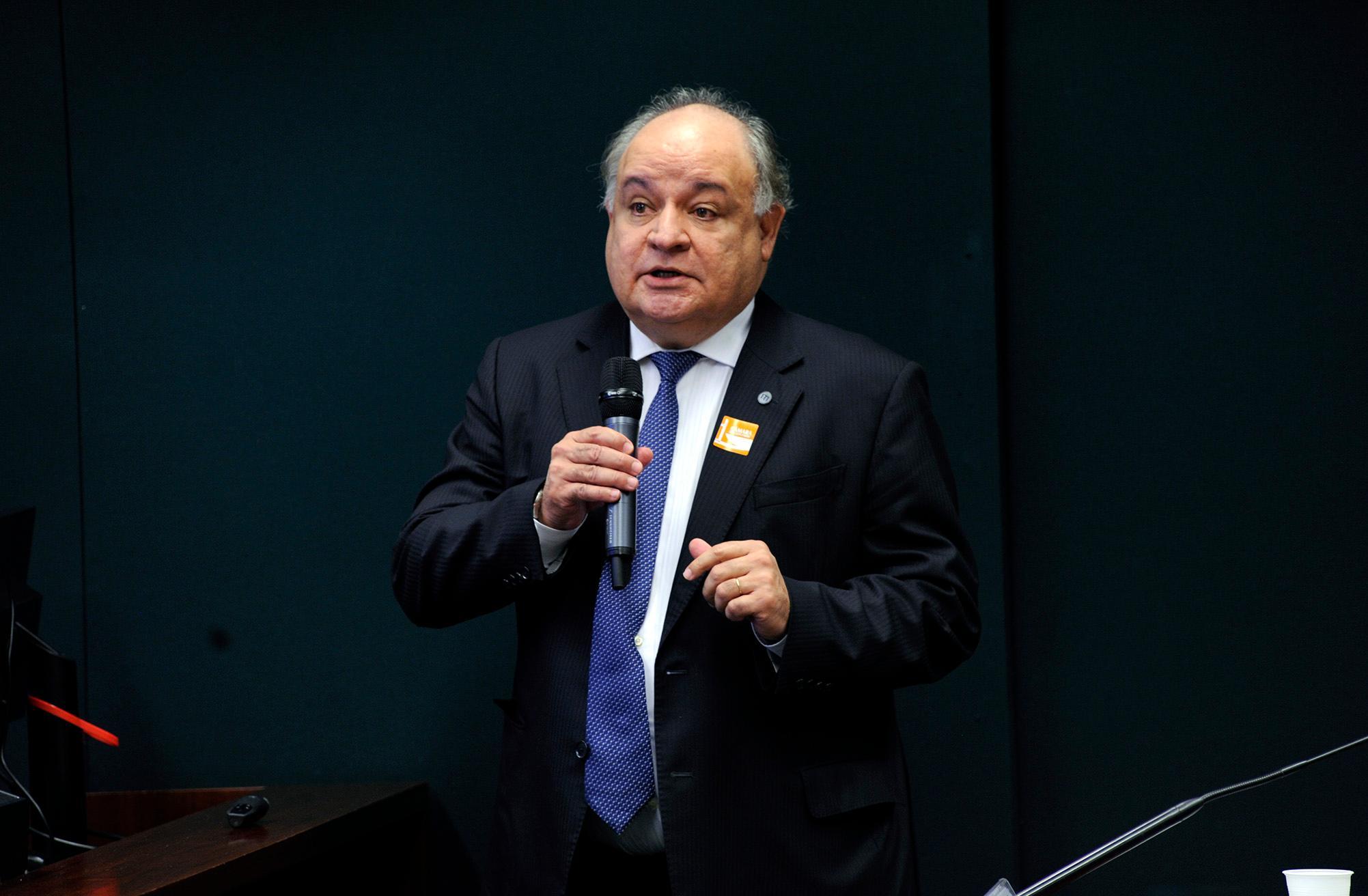 Audiência pública sobre a necessidade de regulação da tecnologia blockchain. Diretor-presidente do Instituto Nacional de Tecnologia da Informação (ITI), Gastão José de oliveira Ramos