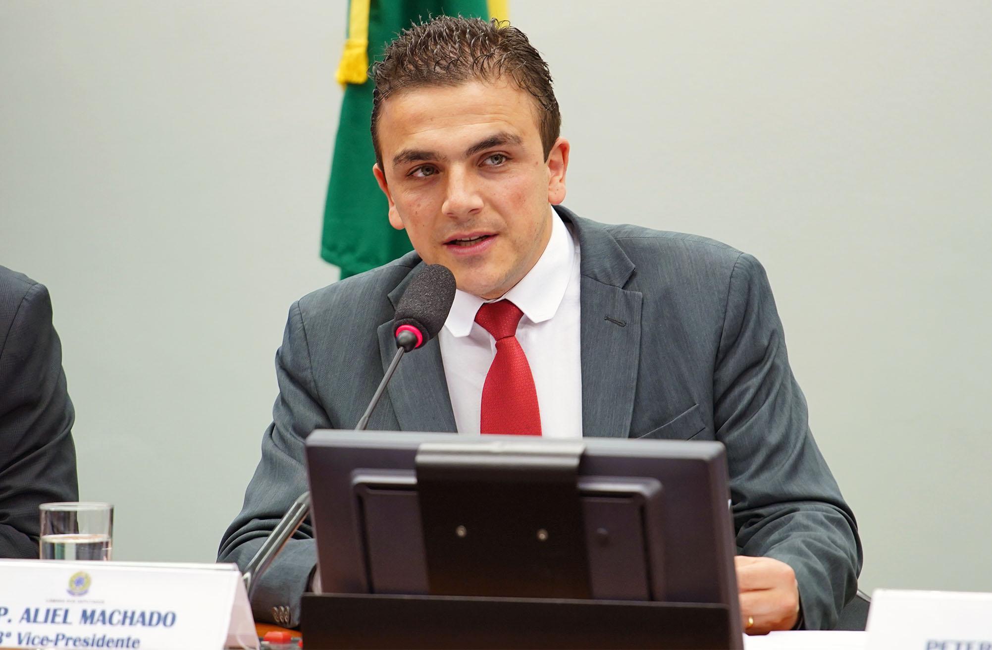 Seminário sobre a situação e demandas dos Câmpus Fora das Sedes das Instituições Federais de Ensino. Dep. Aliel Machado (PSB - PR)