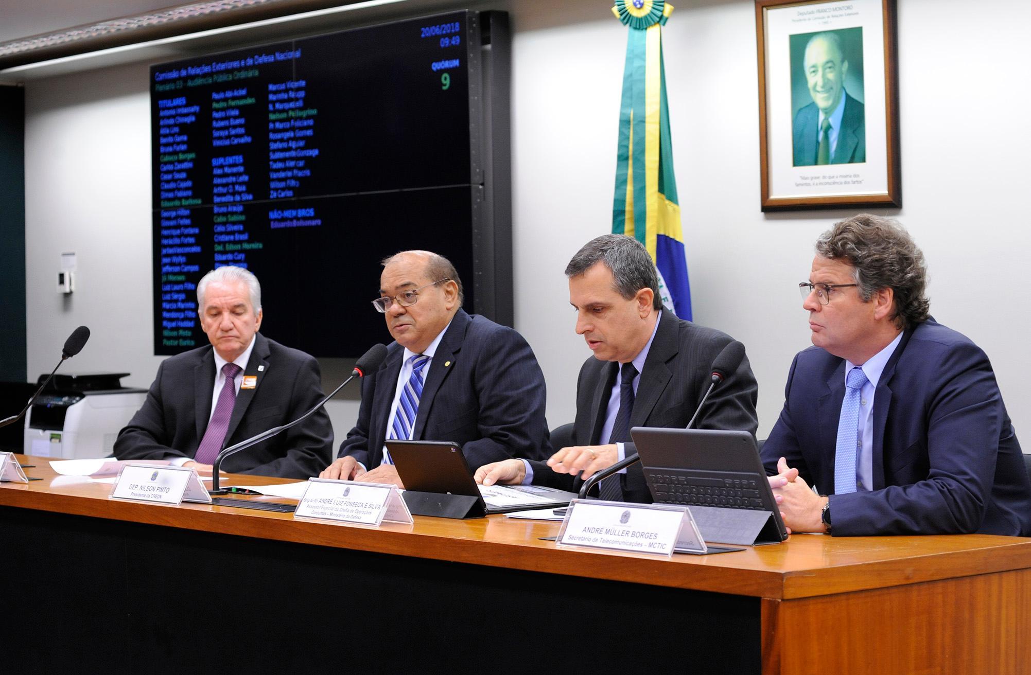 Audiência Pública para Debater e esclarecer acerca do contrato firmado entre a Telebras e a empresa Viasat