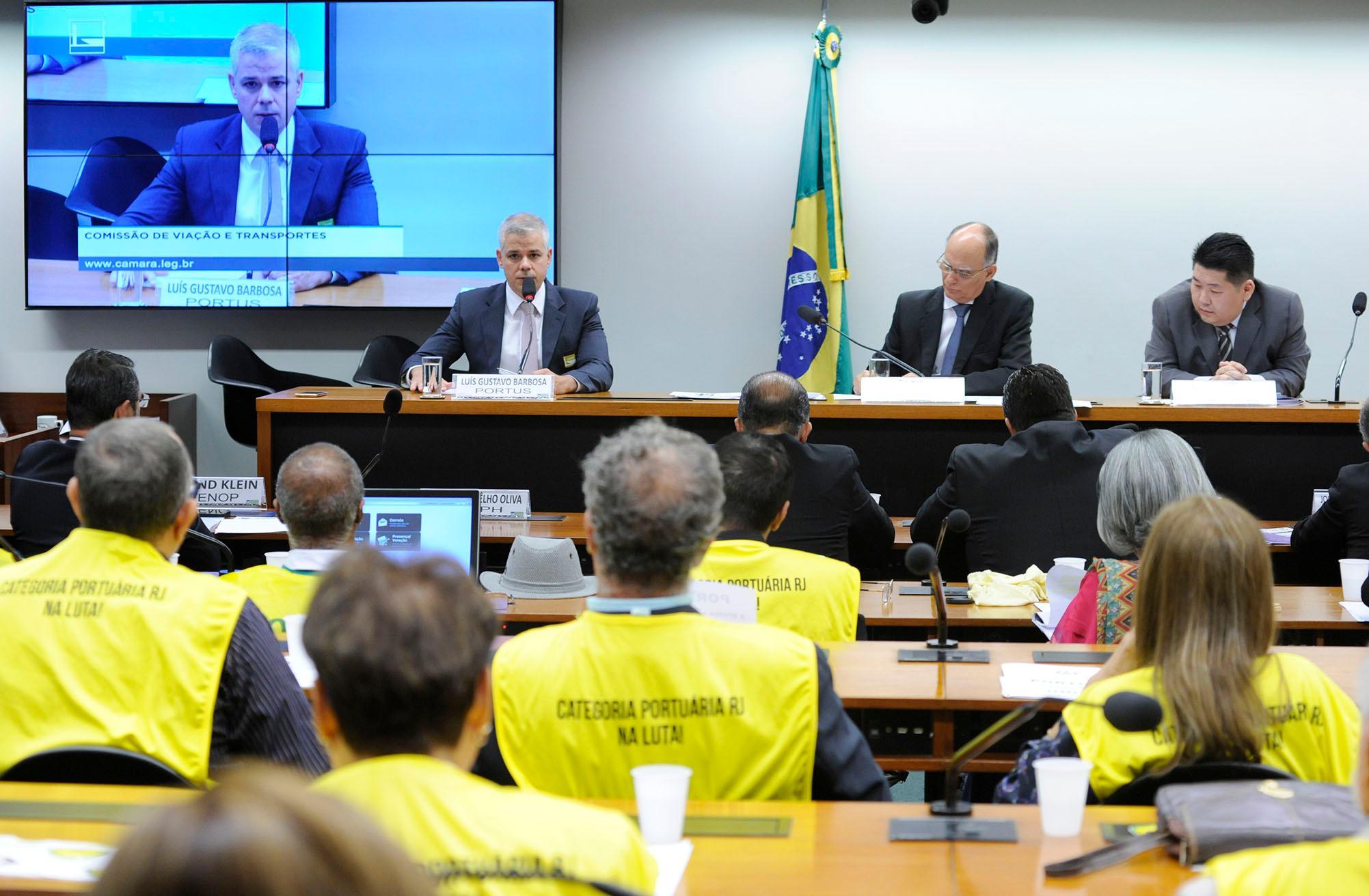 Audiência Pública sobre a situação dos participantes assistidos e pensionistas do Instituto de Seguridade Portus