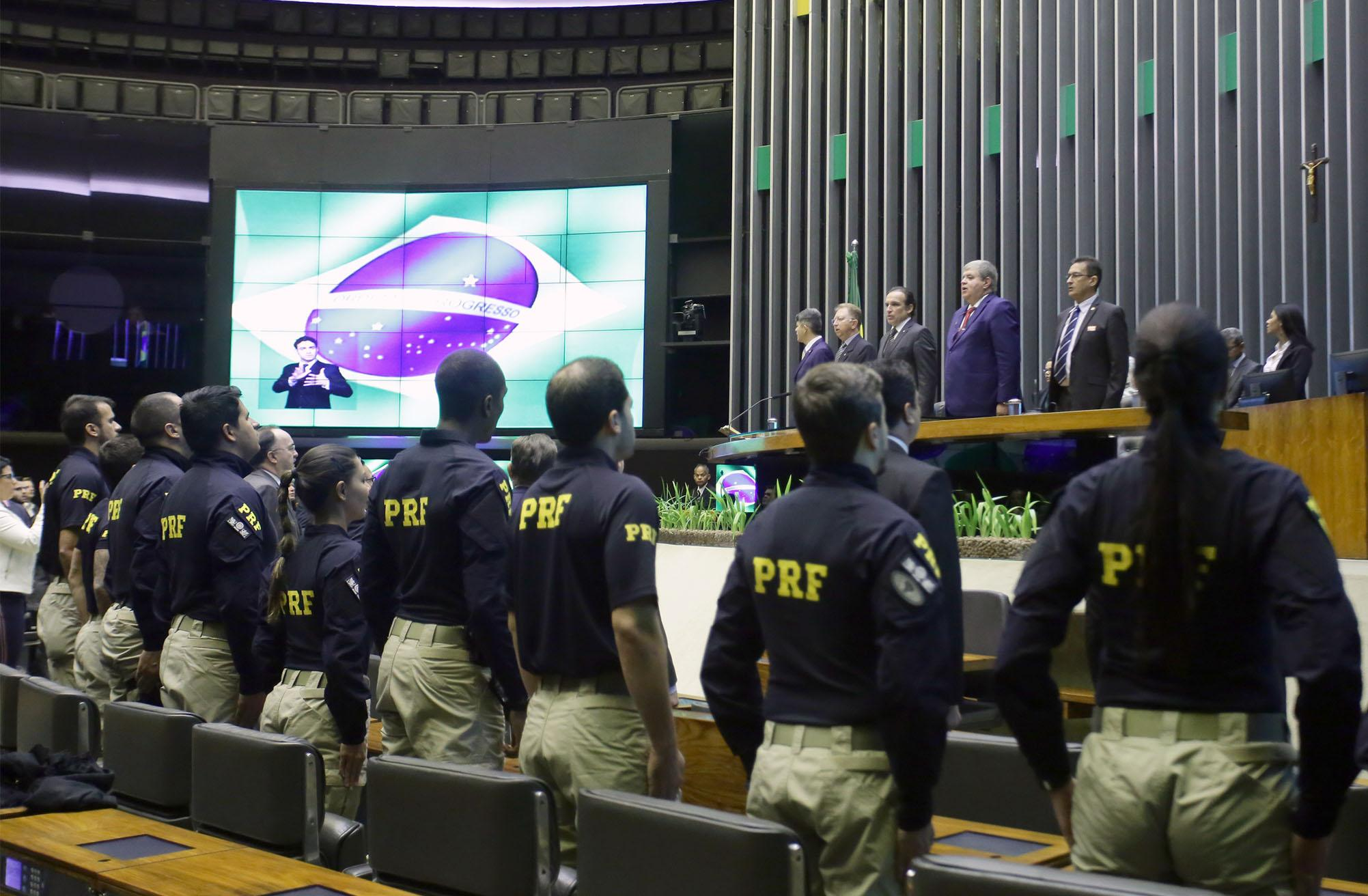 Homenagem à Polícia Rodoviária Federal