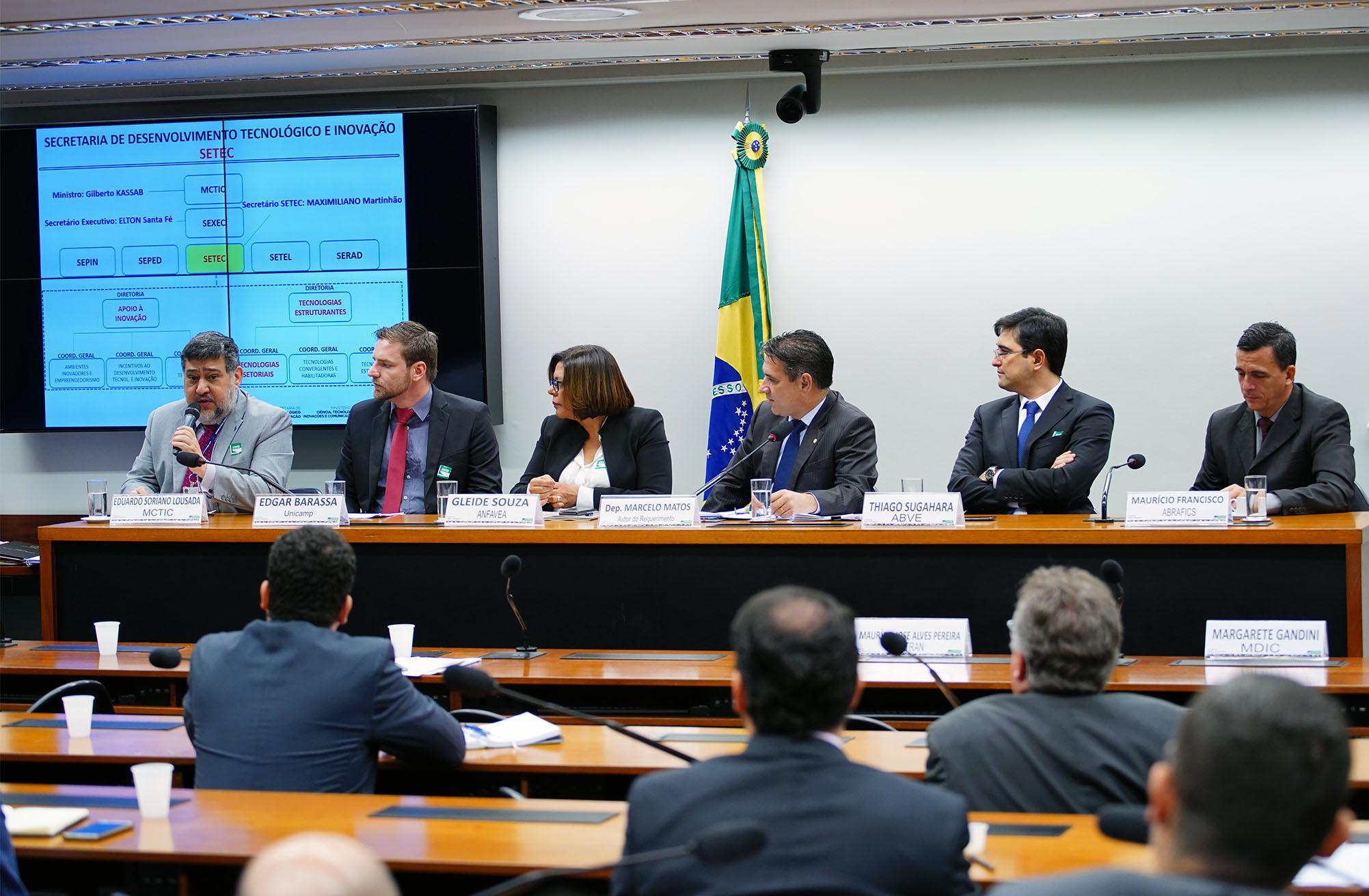 Audiência pública sobre a eletromobilidade no Brasil