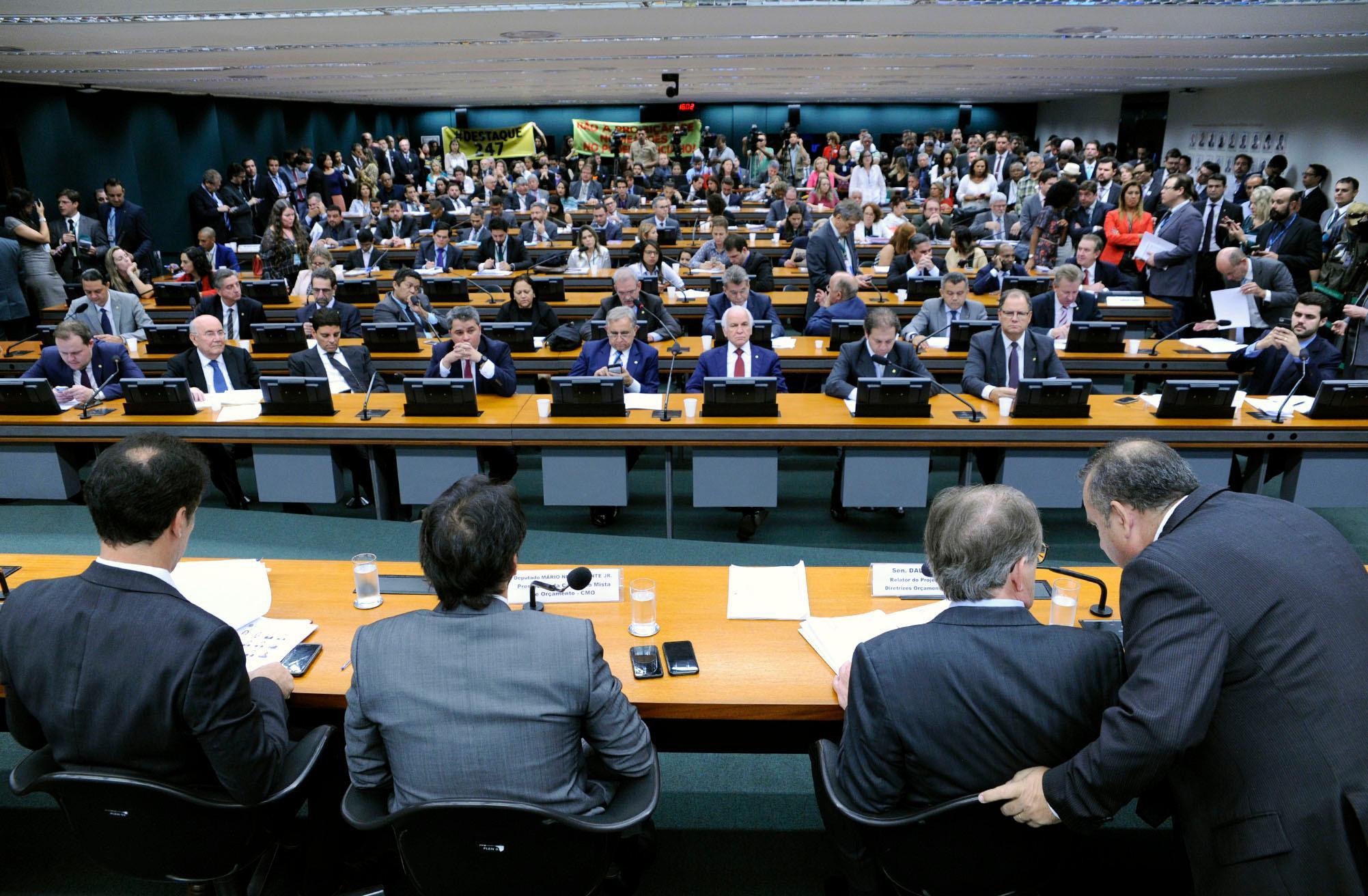 Reunião para discussão sobre o projeto da Lei de Diretrizes Orçamentárias (LDO)