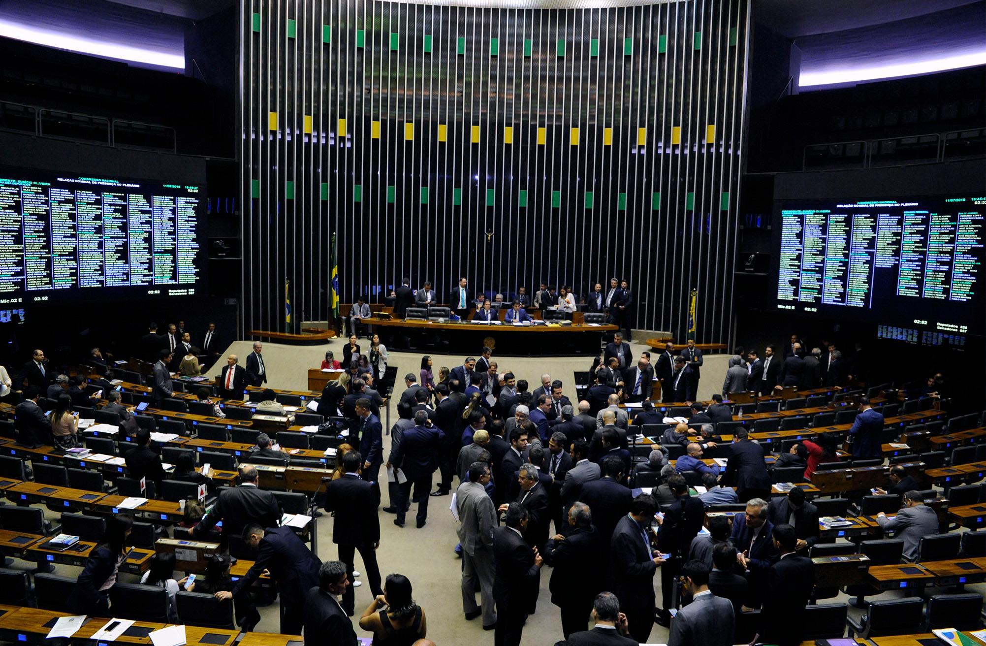 Sessão para deliberação dos projetos de lei do congresso nacional nºs 13, 9, 10 e 2 de 2018