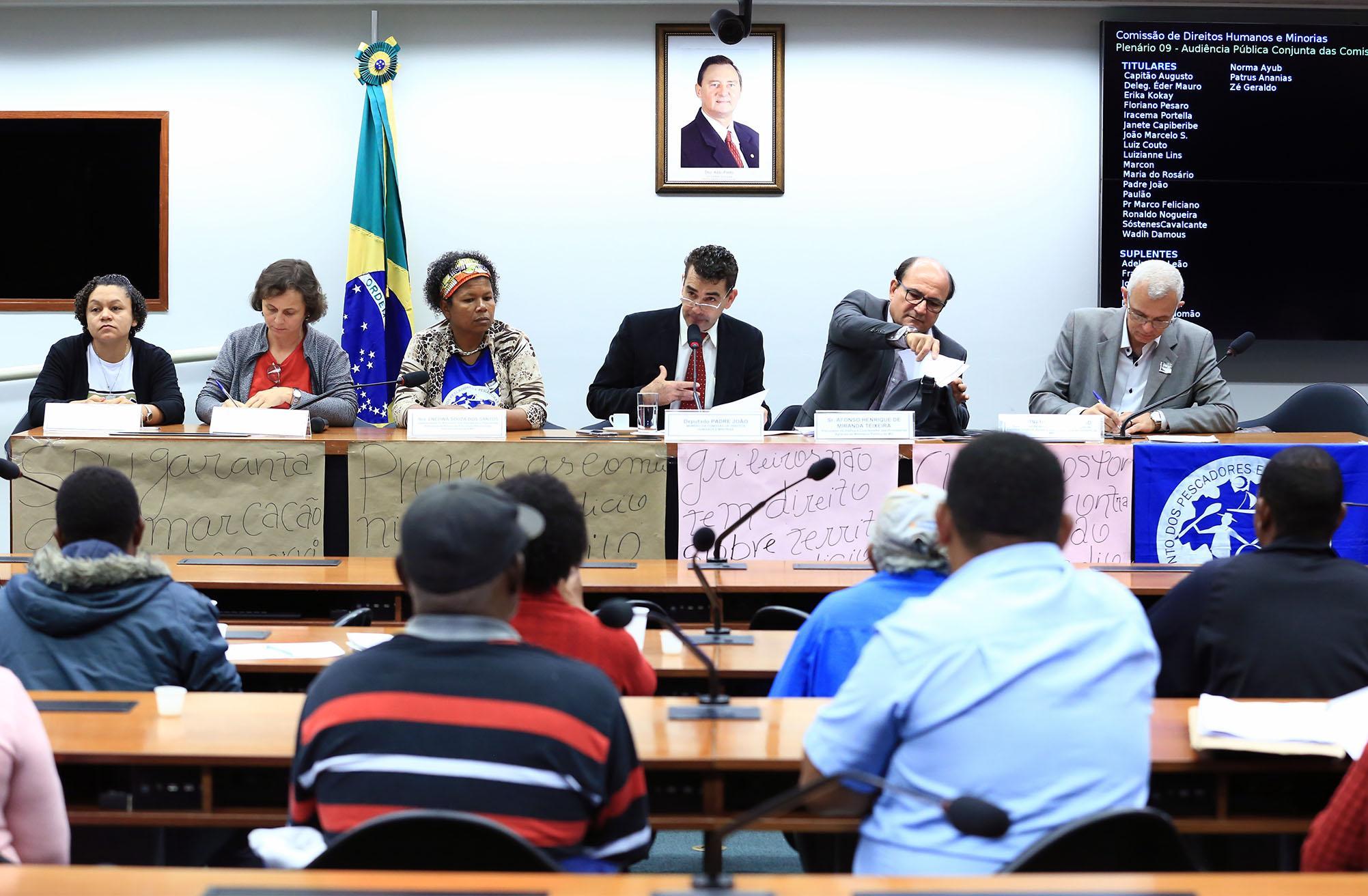 Audiência pública para os direitos territoriais dos povos das águas da região norte de Minas Gerais