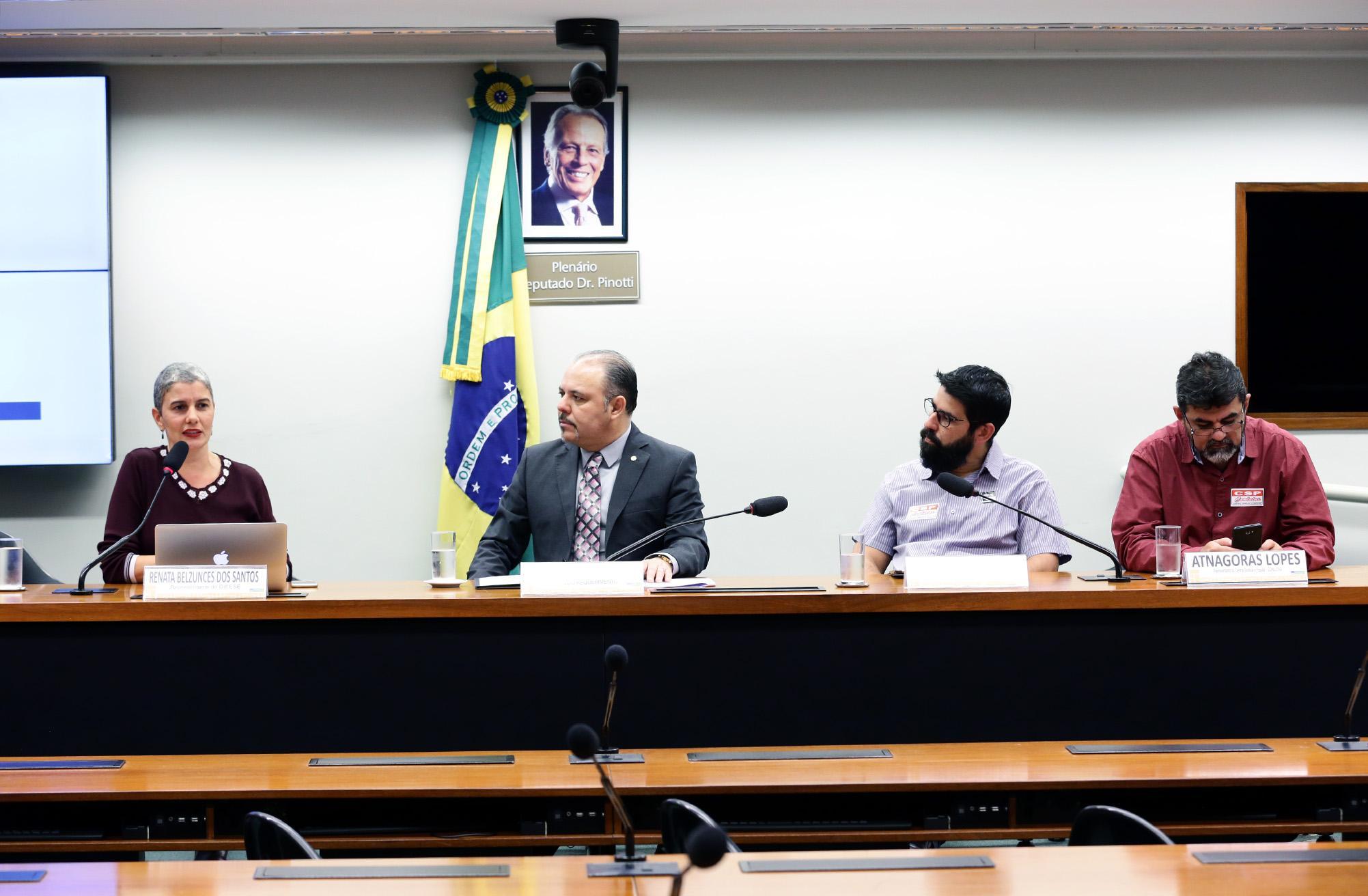 Audiência Pública sobre a previdência da EMBRAER.