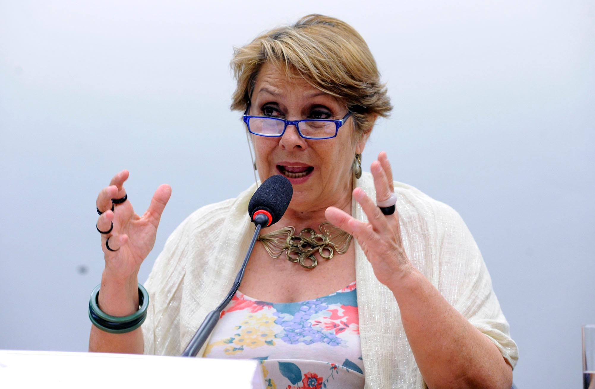 Audiência pública sobre a redução da extensão territorial da Comunidade Remanescente de Quilombo Mesquita - GO. Dep. Érika Kokay (PT-DF)