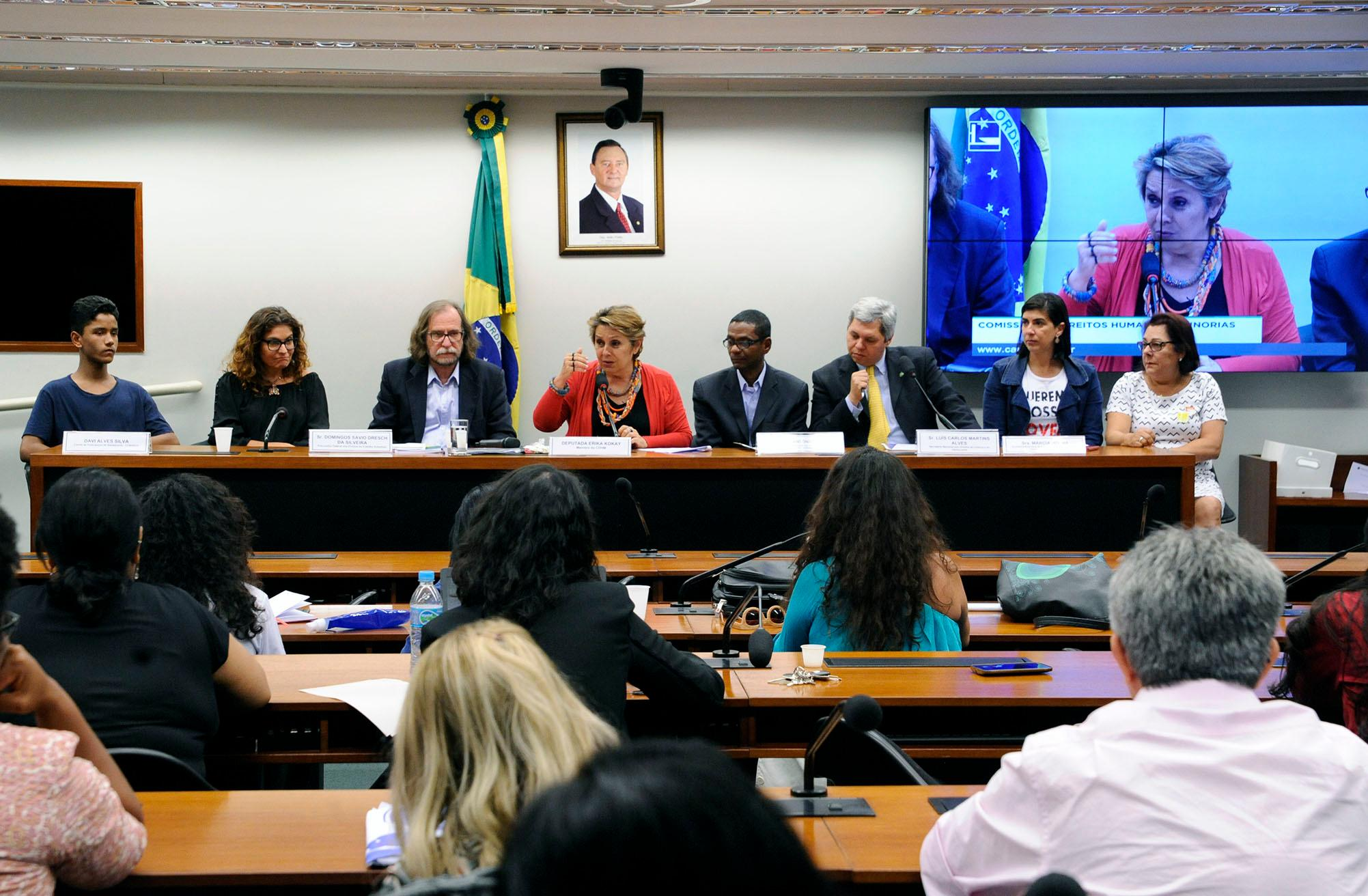 Audiência pública para celebração dos 28 anos do Estatuto da Criança e do Adolescente (ECA) e o sistema de garantia de direitos