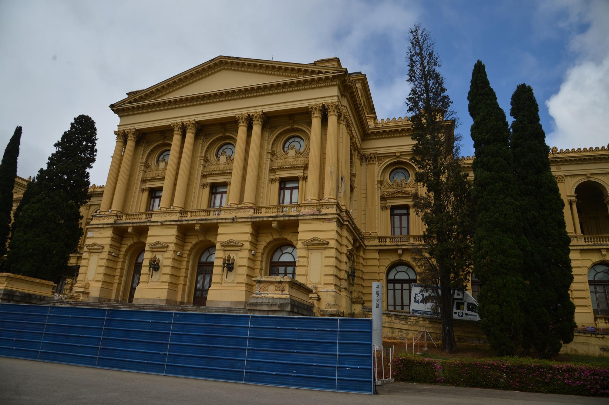Museu do Ipiranga está fechado desde 2013 e aguarda verba para as obras de restauração e modernização