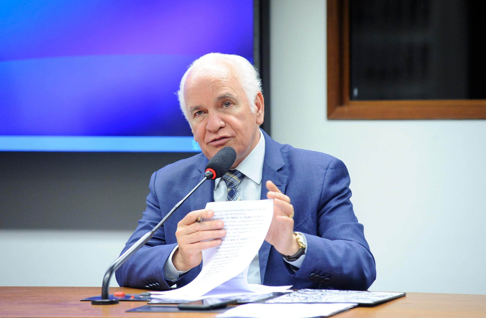 Reunião Ordinária para apreciação das Emendas ao Projeto da Lei Orçamentária Anual de 2019 (Projeto de Lei nº 027/2018-CN). Dep. Gilberto Nascimento (PSC - SP)