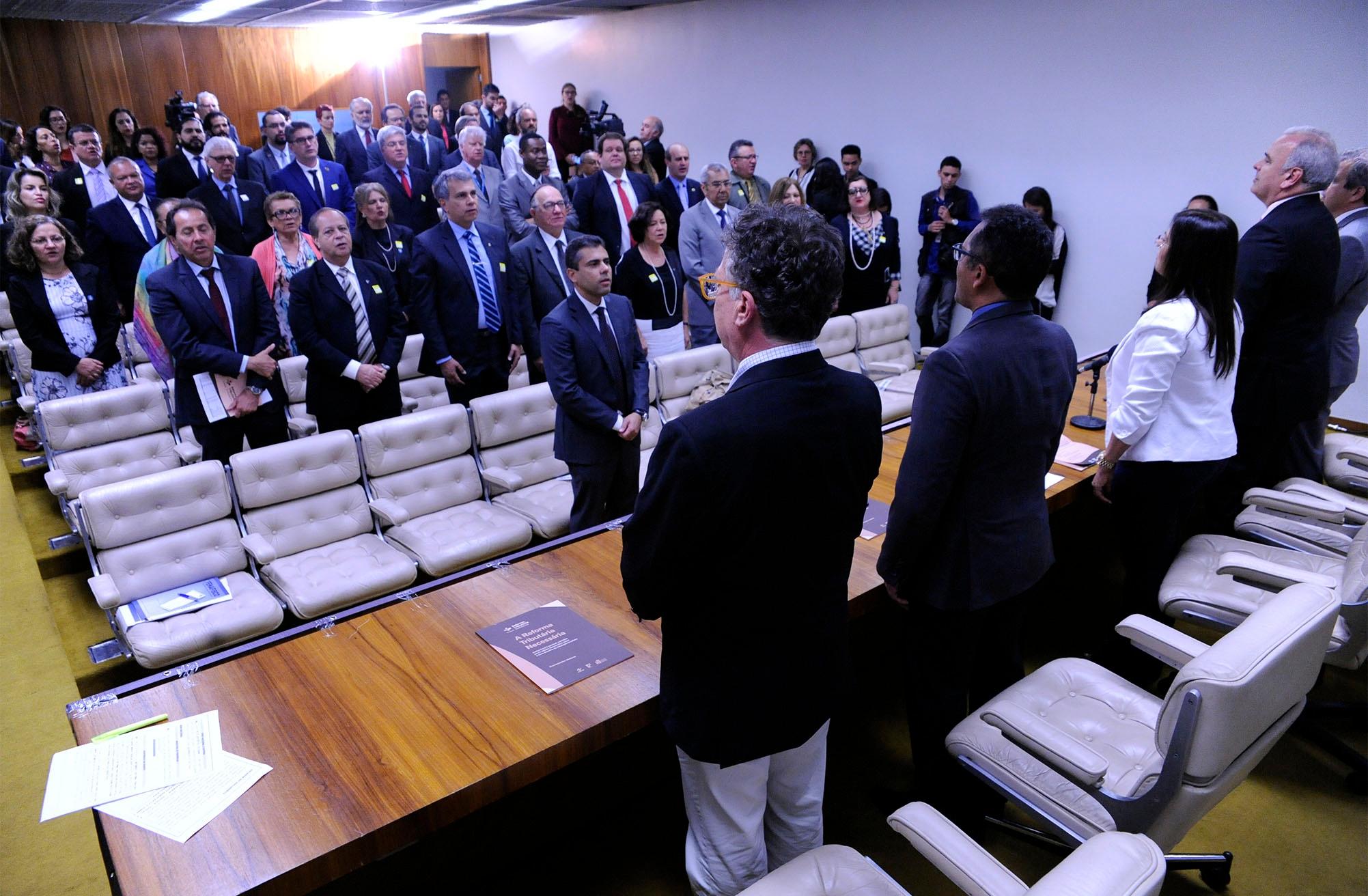Lançamento do documento-síntese com propostas da Reforma Tributária Solidária