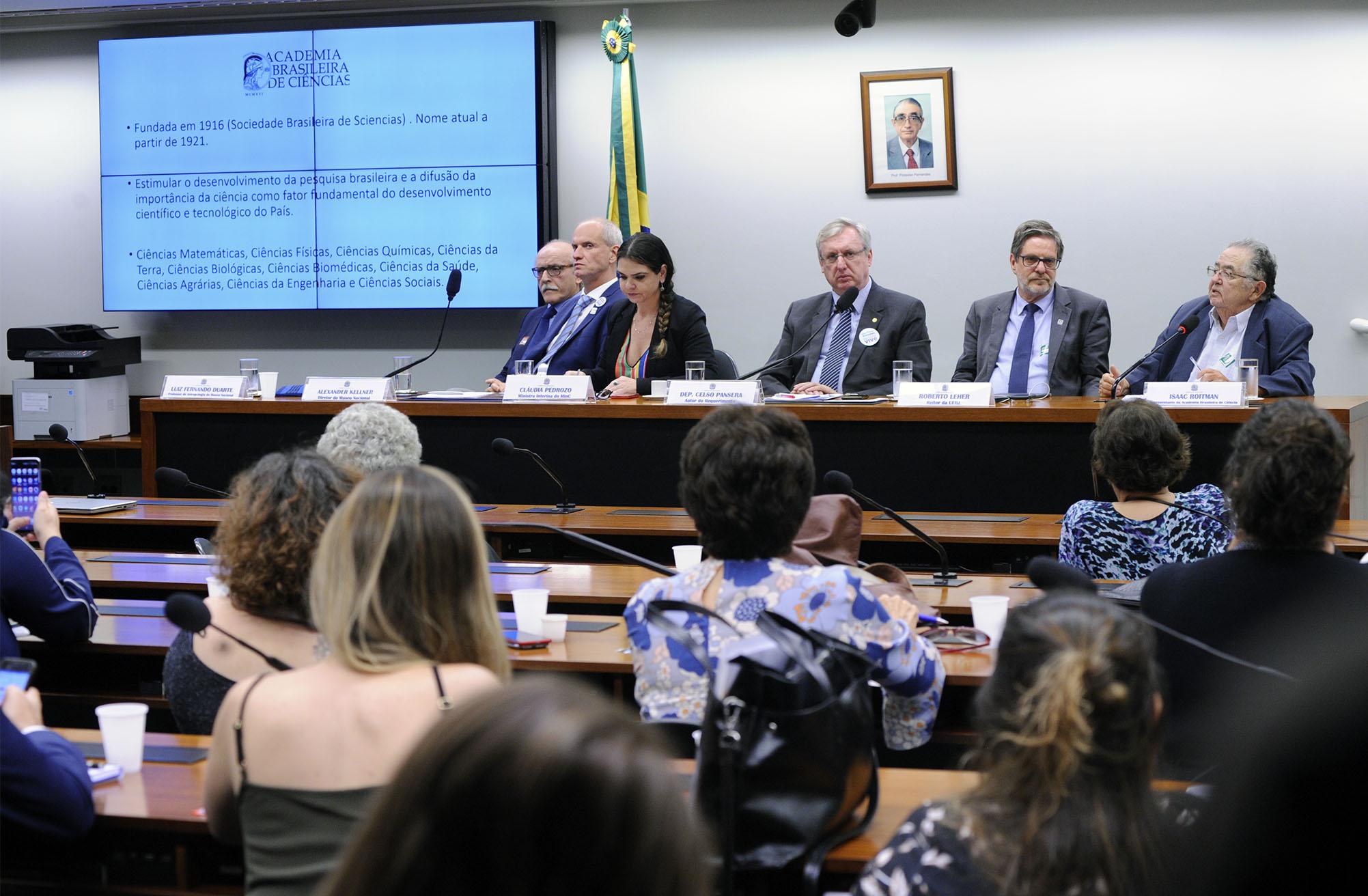 Audiência pública e reunião ordinária