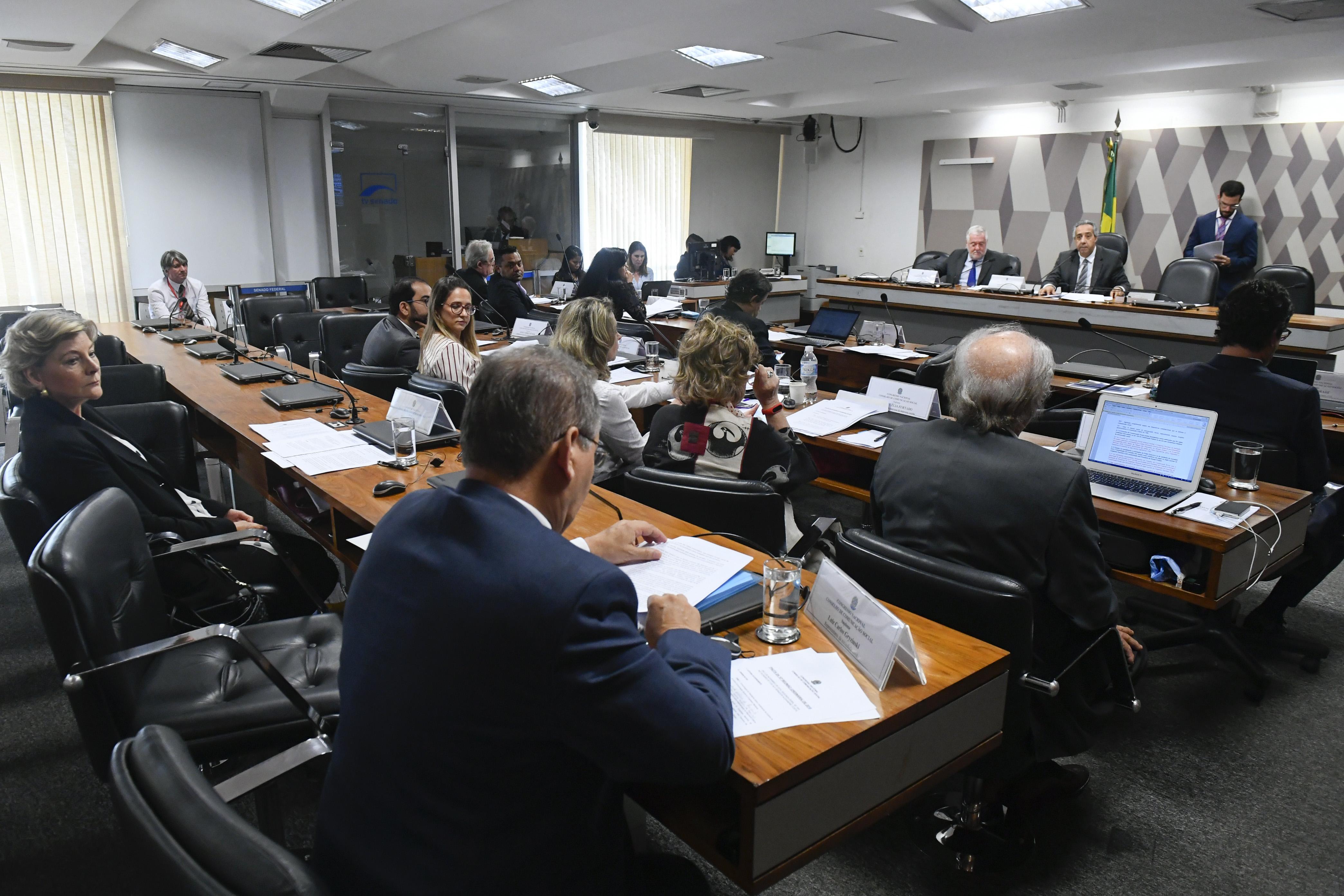 Conselho de Comunicação Social (CCS) realiza reunião deliberativa.