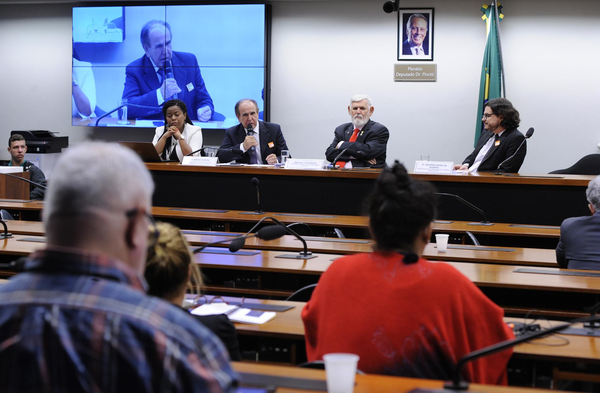 Audiência Pública sobre Direitos Humanos e Democracia - Perspectivas no atual contexto político e econômico.