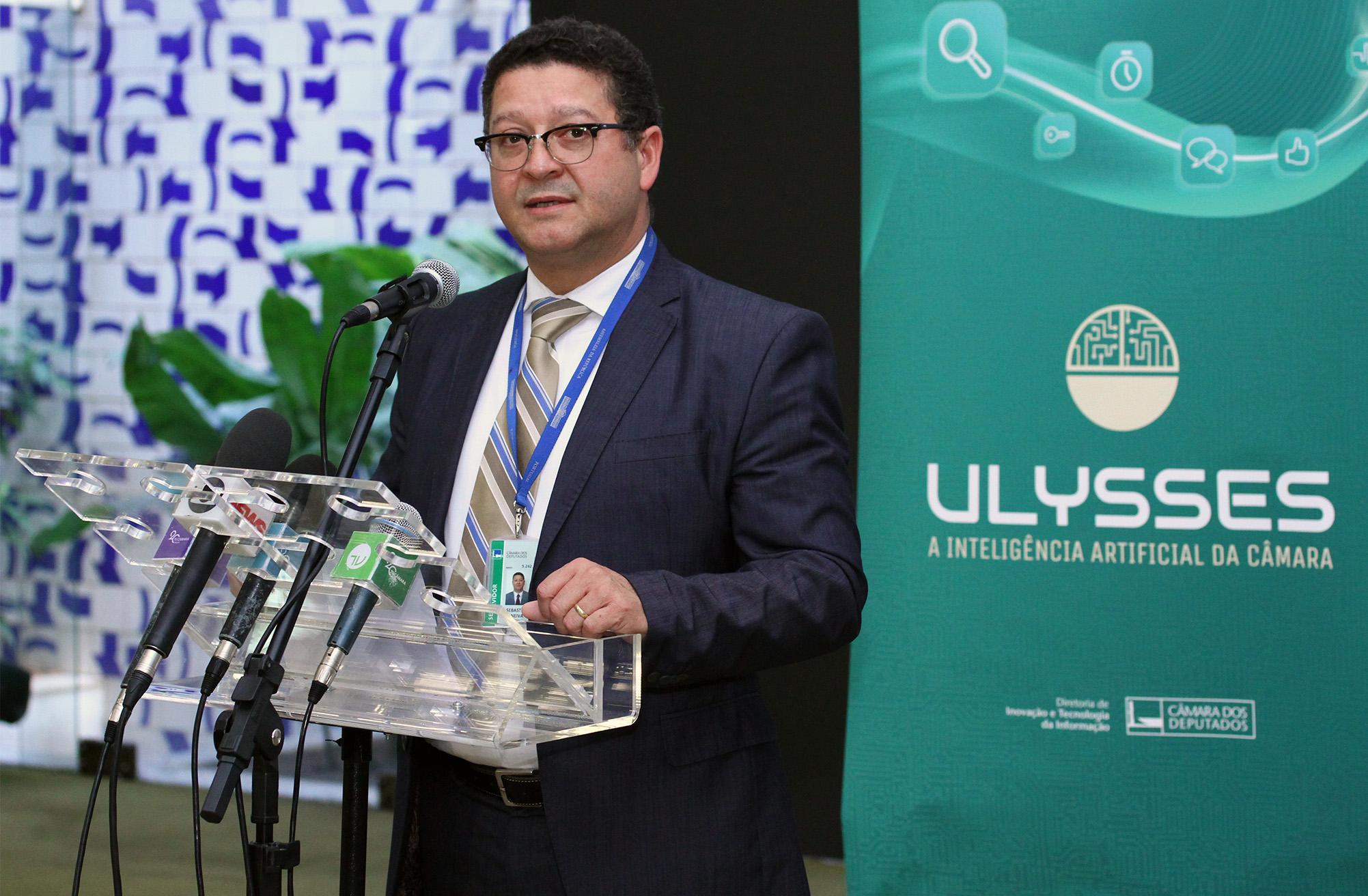 Lançamento Robô Ulysses