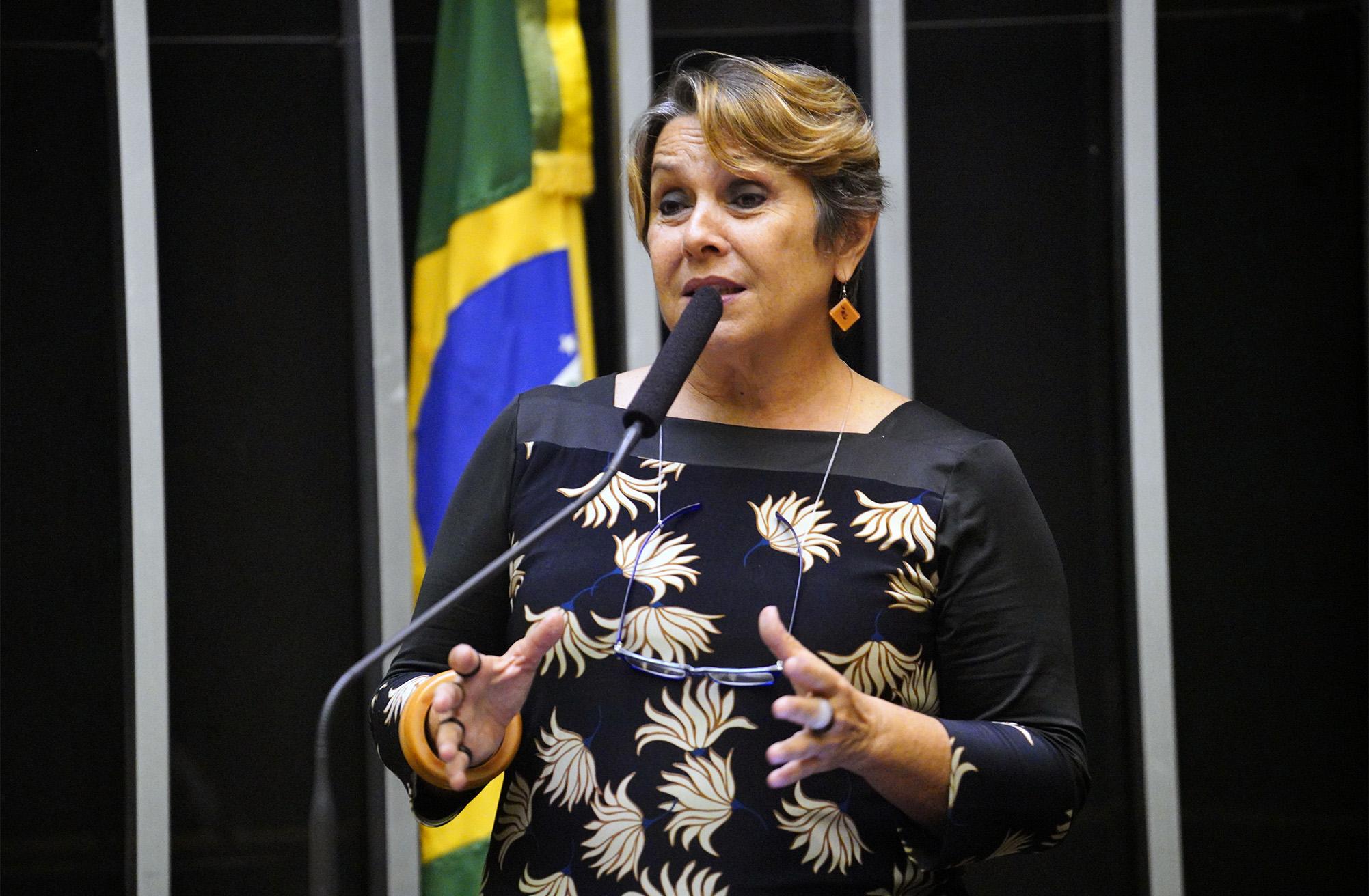 Entrega do Diploma Mulher-Cidadã Carlota Pereira de Queirós 2018. Dep. Érika Kokay (PT-DF)