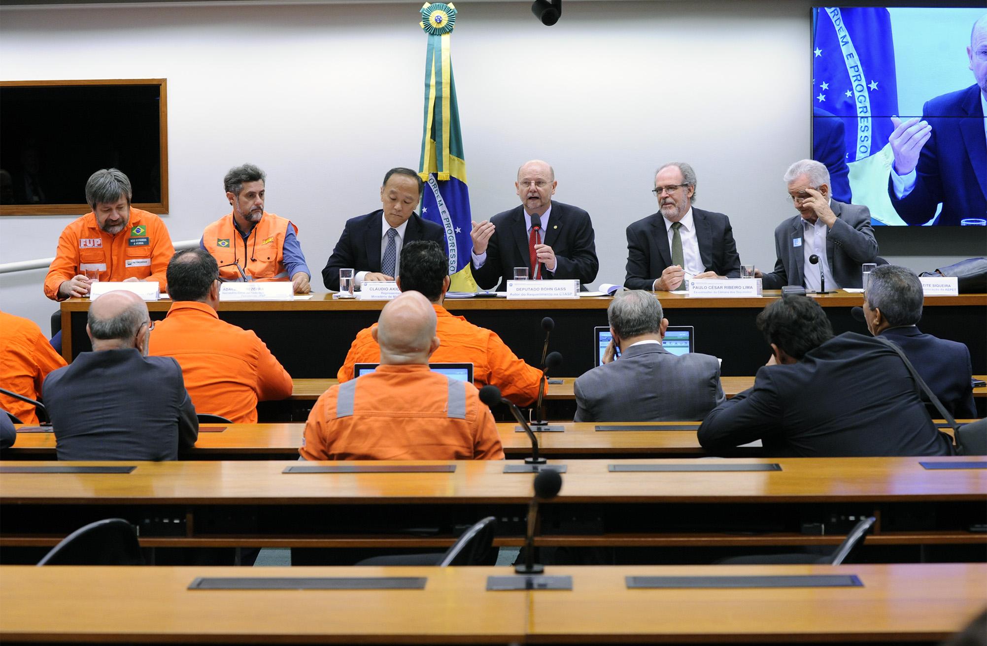 Audiência pública sobre o refino de petróleo como uma questão estratégica para o país