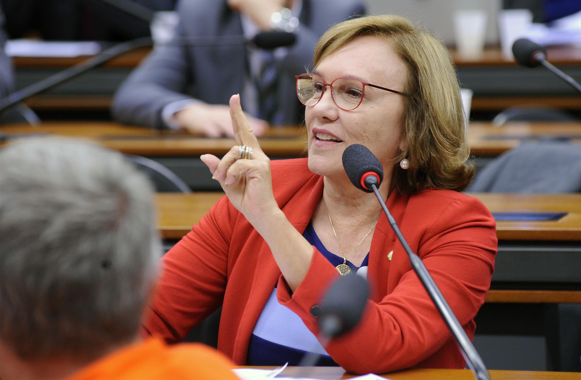Audiência pública sobre o refino de petróleo como uma questão estratégica para o país. Dep. Zenaide Maia (PHS - RN)