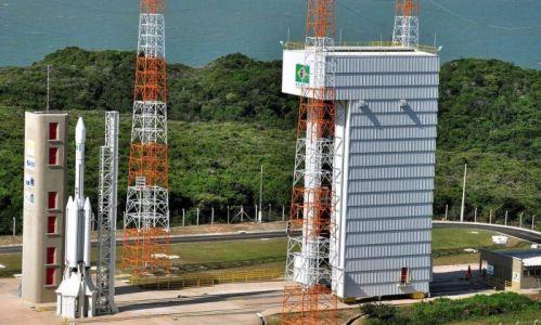 Tecnologia - espacial - Base de lançamento de foguetes em Alcântara, no Maranhão