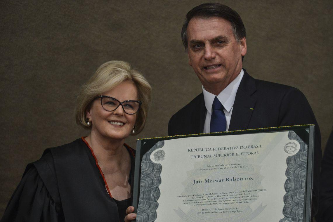 Cerimônia Diplomação Jair Bolsonaro presidente