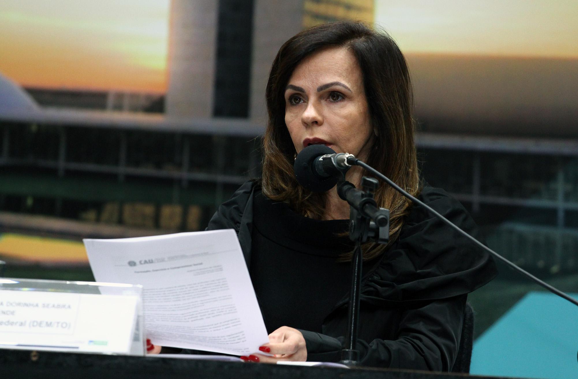 VI Seminário Legislativo de Arquitetura e Urbanismo. Dep. Professora Dorinha Seabra Resende (DEM - TO)