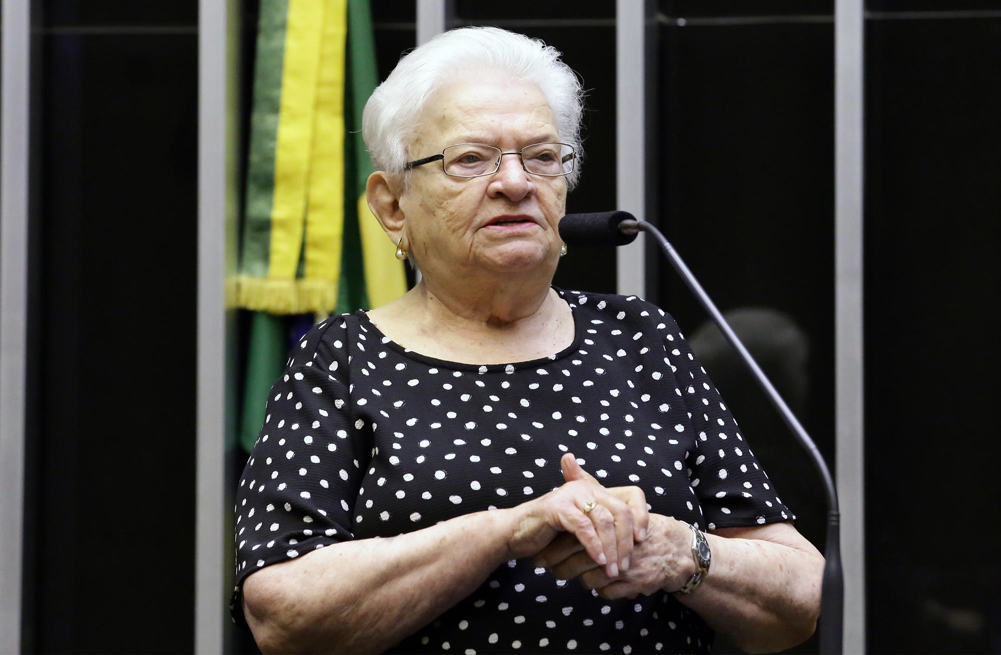 Homenagem aos Vinte Anos da TV Câmara. Dep. Luiza Erundina (PSOL - SP)