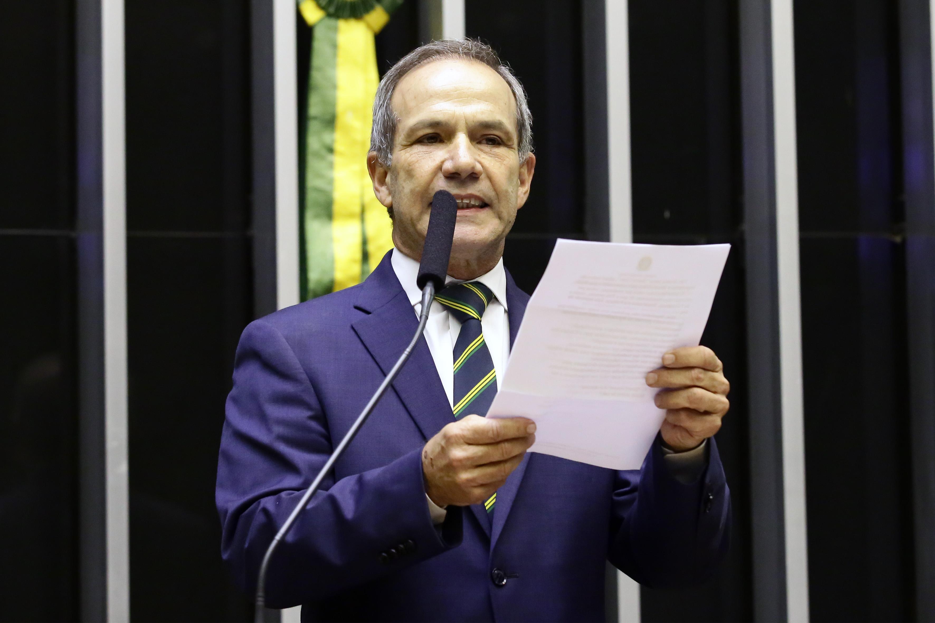 2ª Sessão Preparatória destinada à eleição dos membros da Mesa Diretora da Câmara dos Deputados para o biênio 2019/2020. Candidato à presidência da Câmara, dep. General Peternelli (PSL-SP)