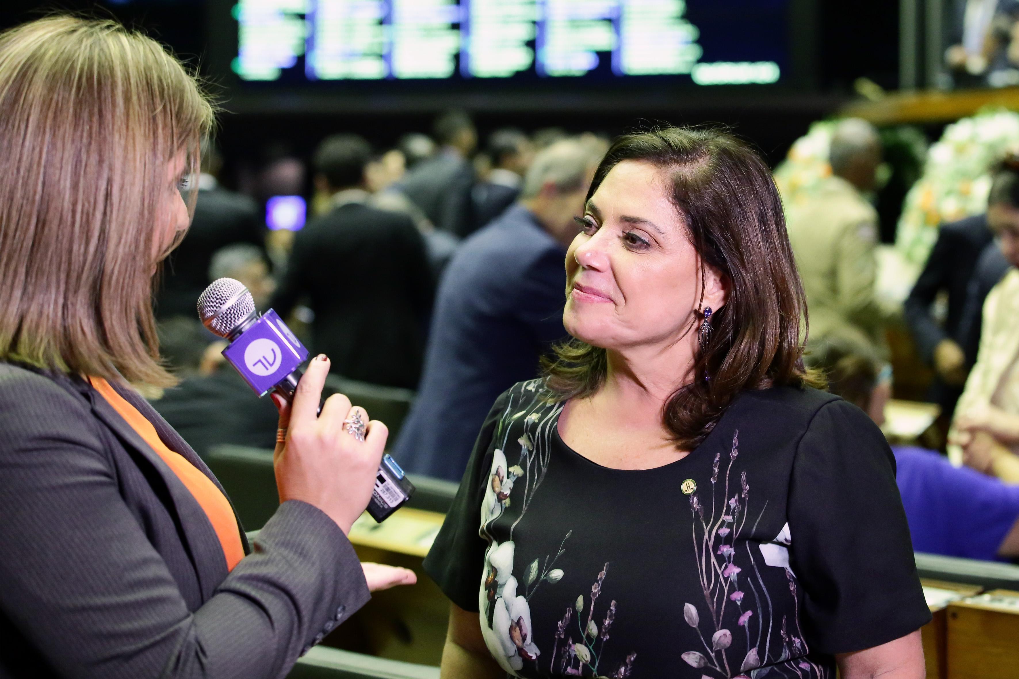 Dep. Soraya Santos (PMDB-RJ) 1ª secretária eleita