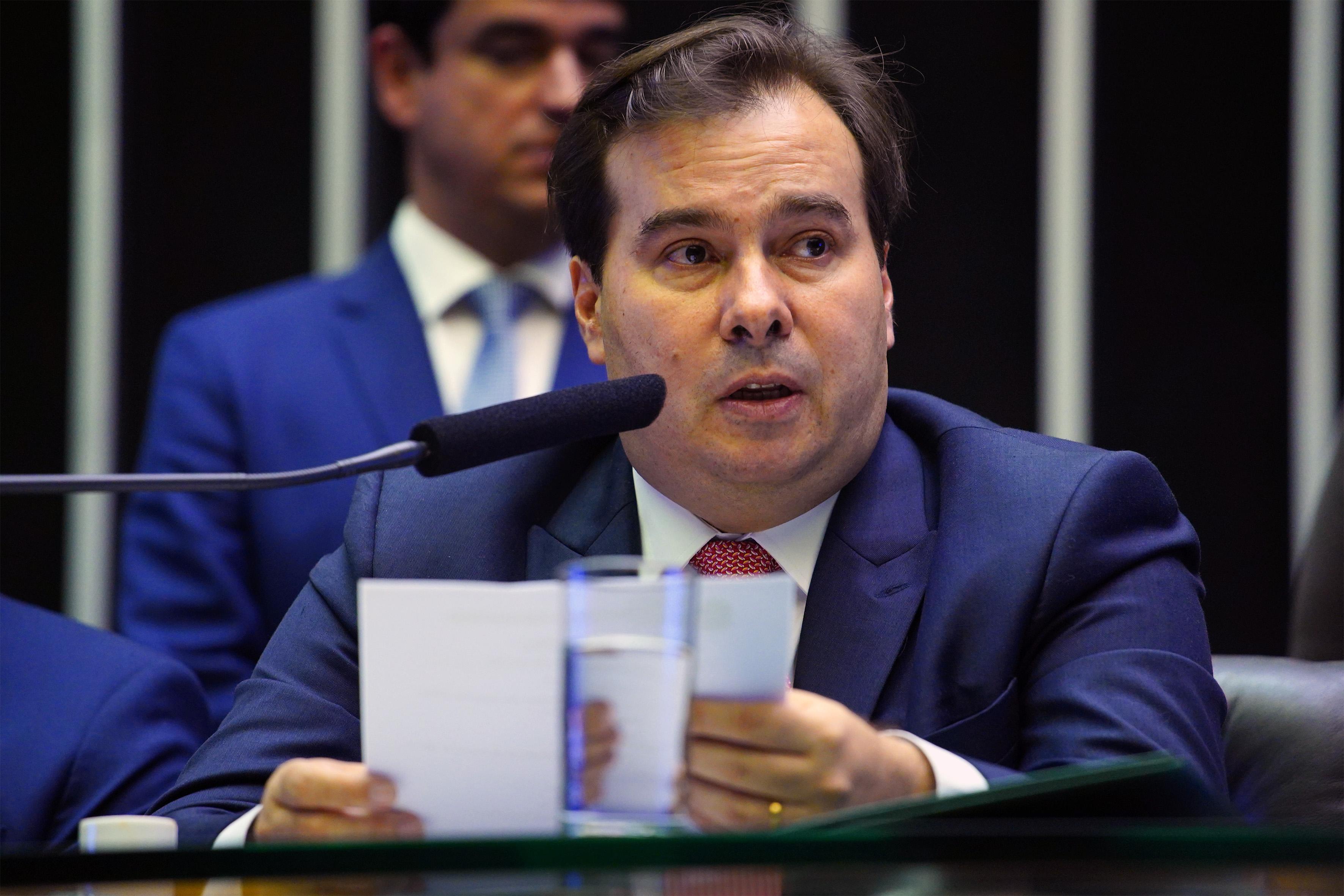 O Congresso Nacional inicia hoje os trabalhos legislativos de 2019, em sessão solene conjunta da Câmara e do Senado. Dep. Rodrigo Maia (DEM-RJ)