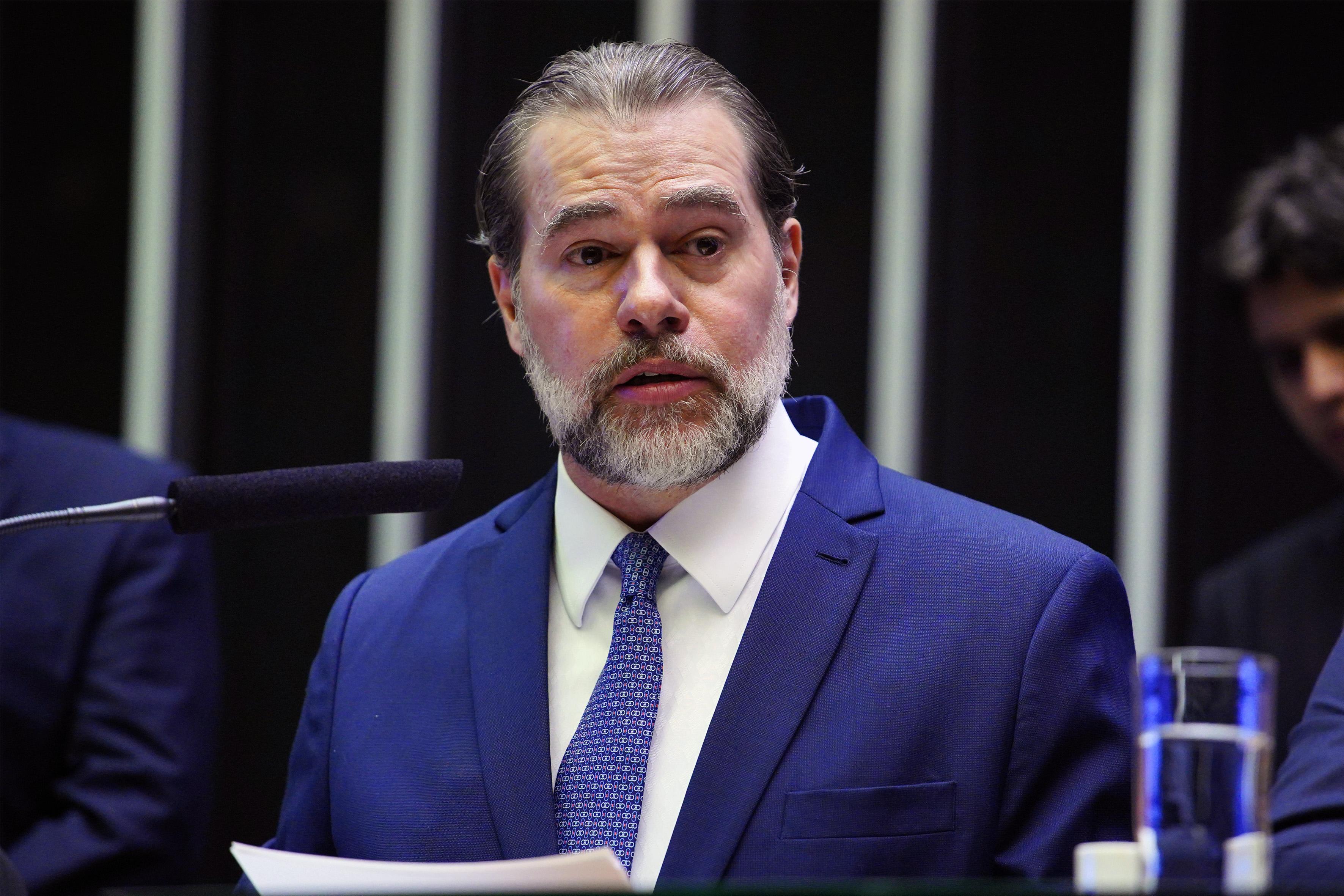O Congresso Nacional inicia hoje os trabalhos legislativos de 2019, em sessão solene conjunta da Câmara e do Senado. Presidente do Supremo Tribunal Federal do Brasil, Dias Toffoli