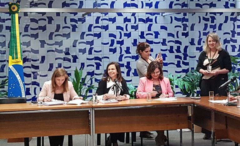 Reunião Secretaria da Mulher, início da Legislatura 2019-2023