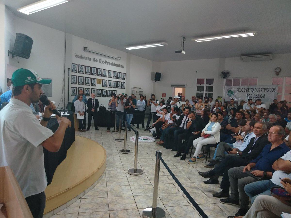 Reunião da Comissão Externa na Câmara Municipal de Brumadinho