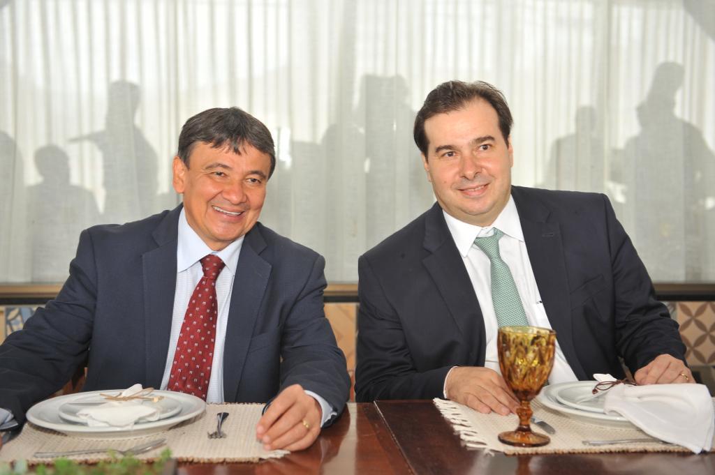 Reunião com o Governador do Piauí, Wellington Dias.