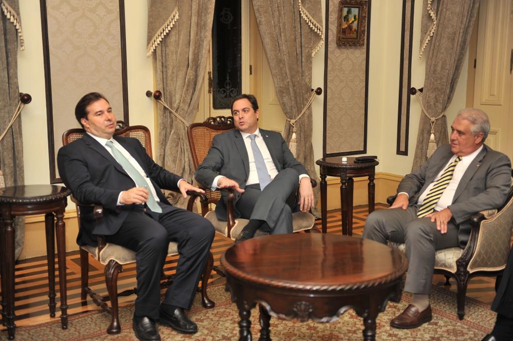 Reunião com o Governador de Pernambuco, Paulo Câmara.