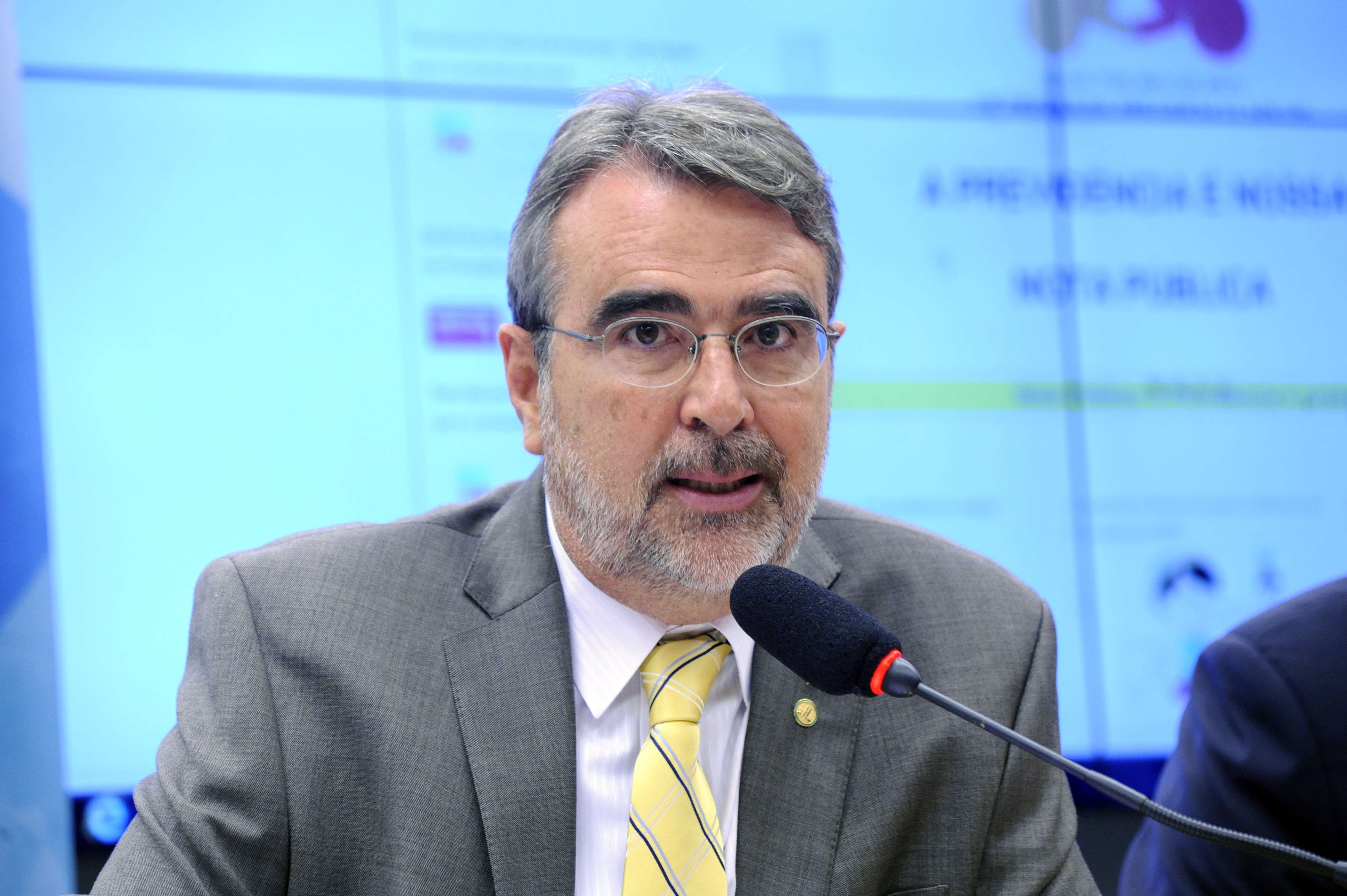 Reunião de trabalho. Dep. Henrique Fontana (PT - RS)