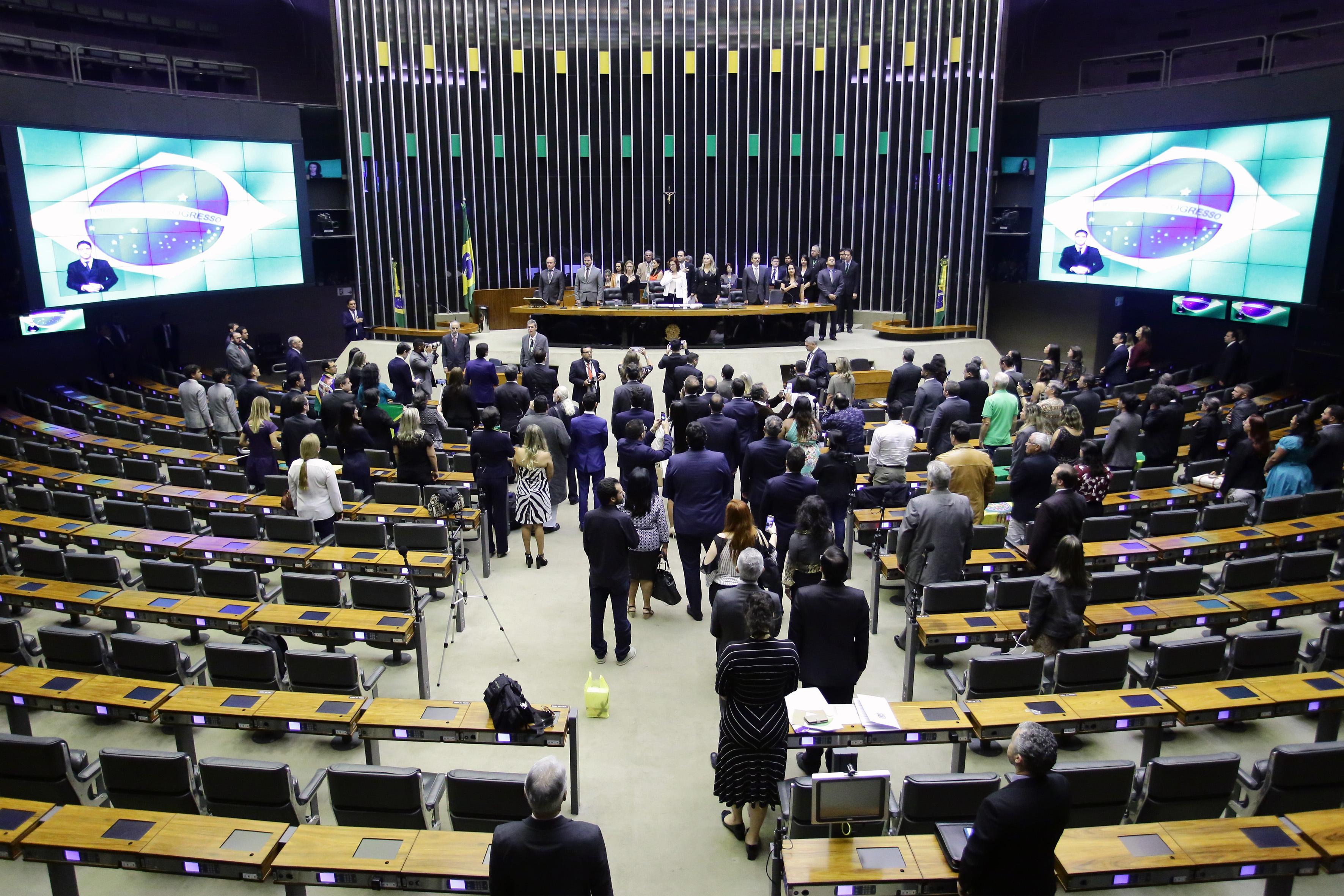 Cerimônia Pelo Brasil e contra a Corrupção
