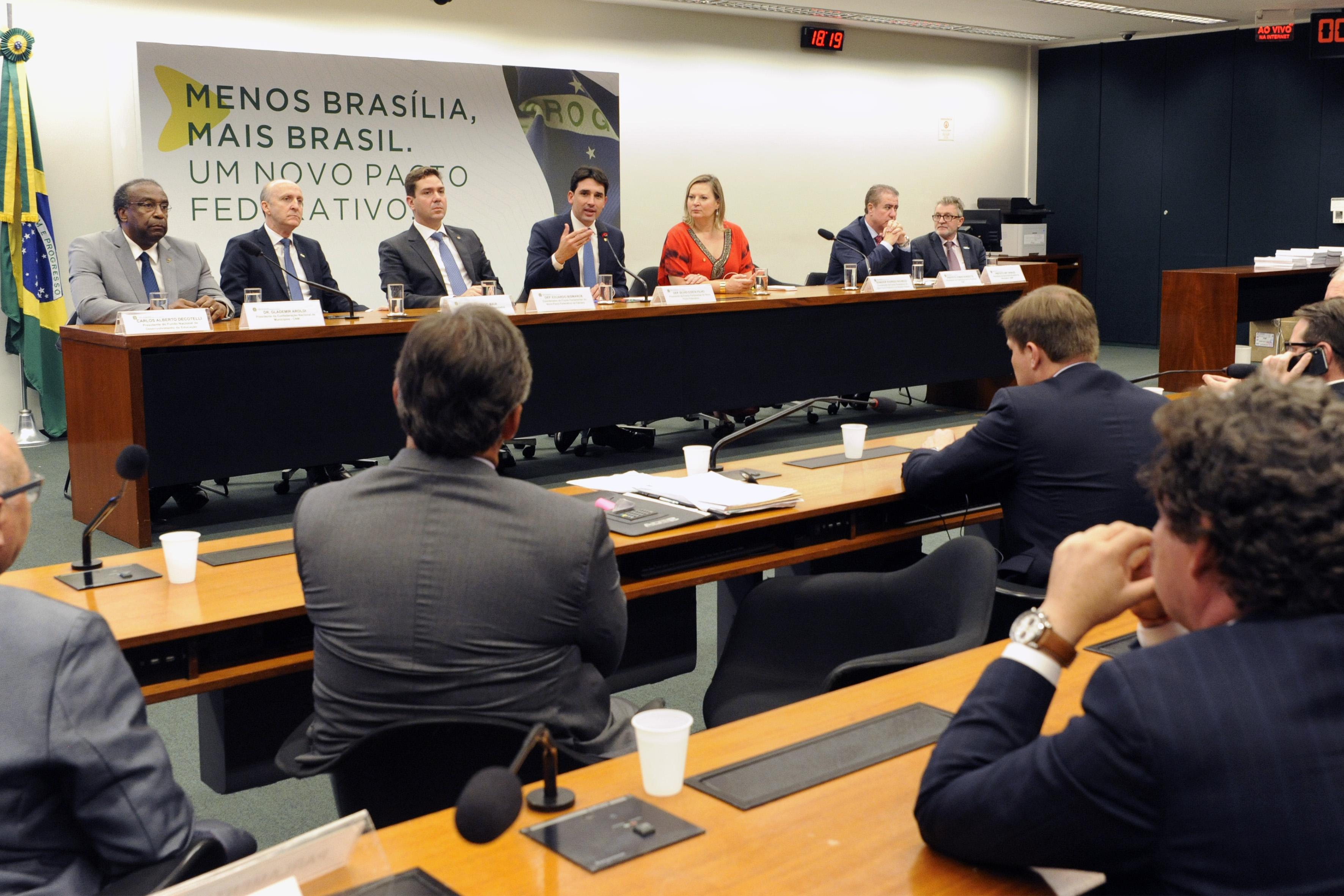 Lançamento da Frente Parlamentar pelo Pacto Federativo