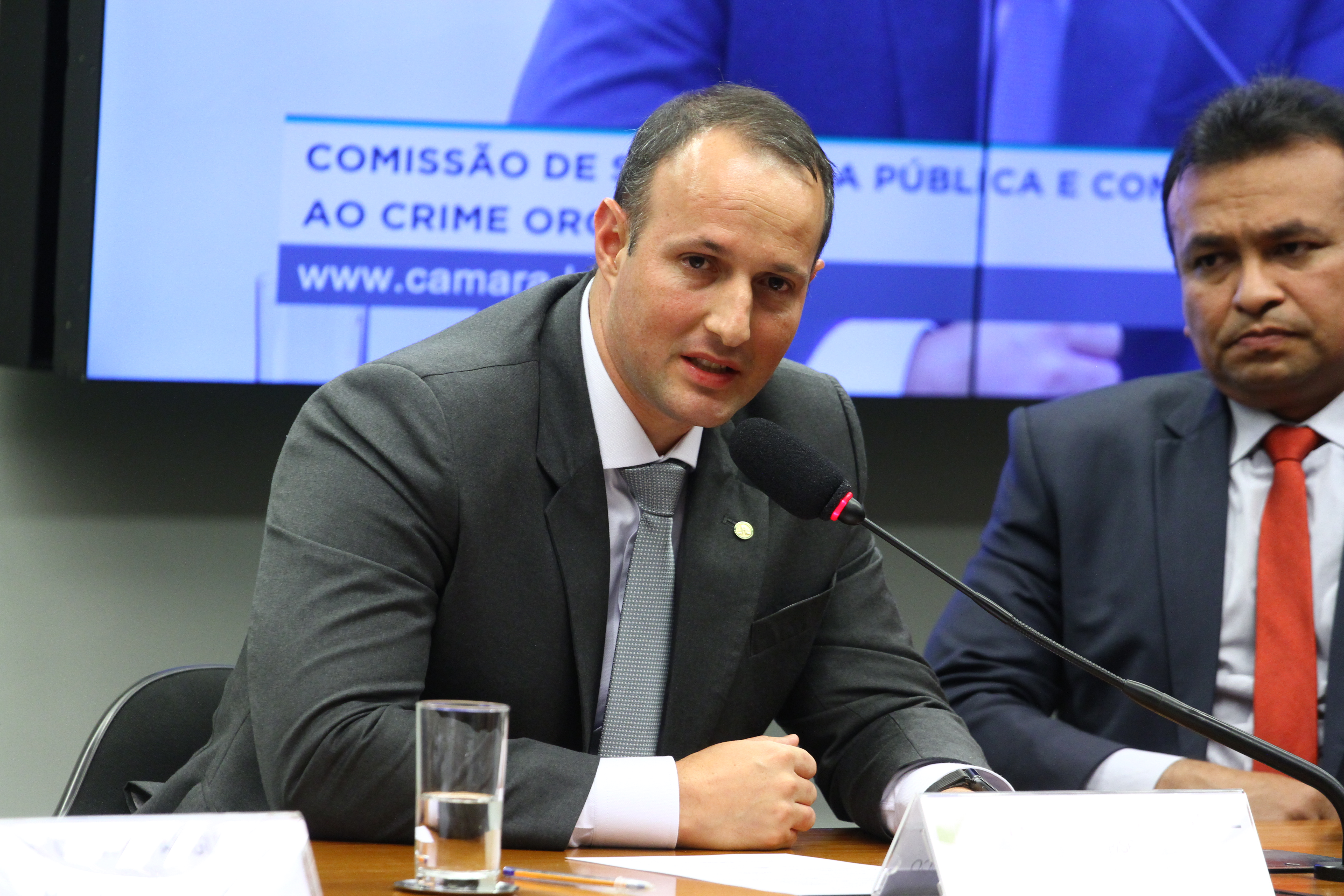Instalação da Comissão e eleição para presidente e vice-presidentes. 2º vice-presidente, dep. Guilherme Derrite (PP - SP)