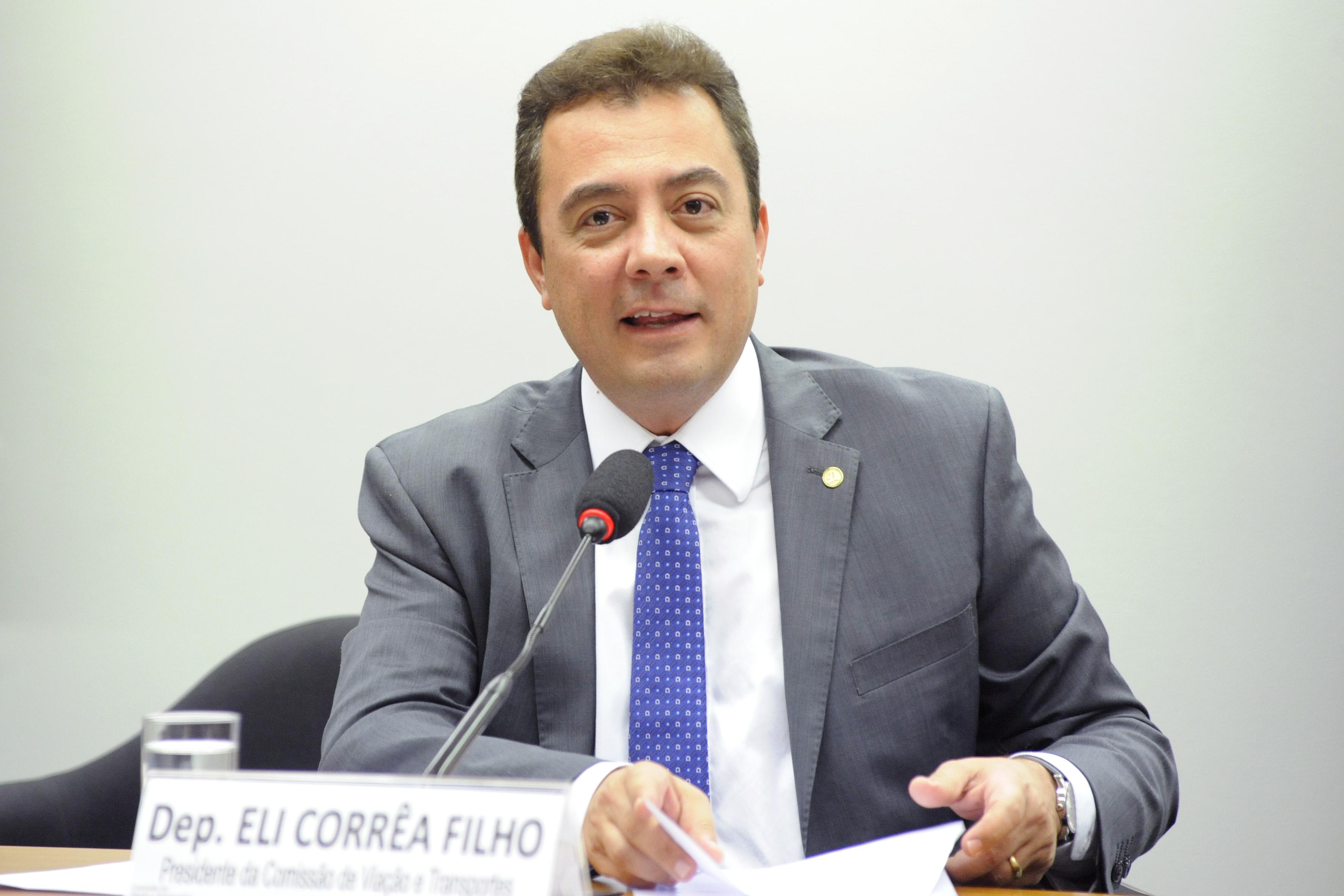 Instalação da Comissão e eleição para presidente e vice-presidentes. Presidente, dep. Eli Corrêa Filho (DEM - SP)