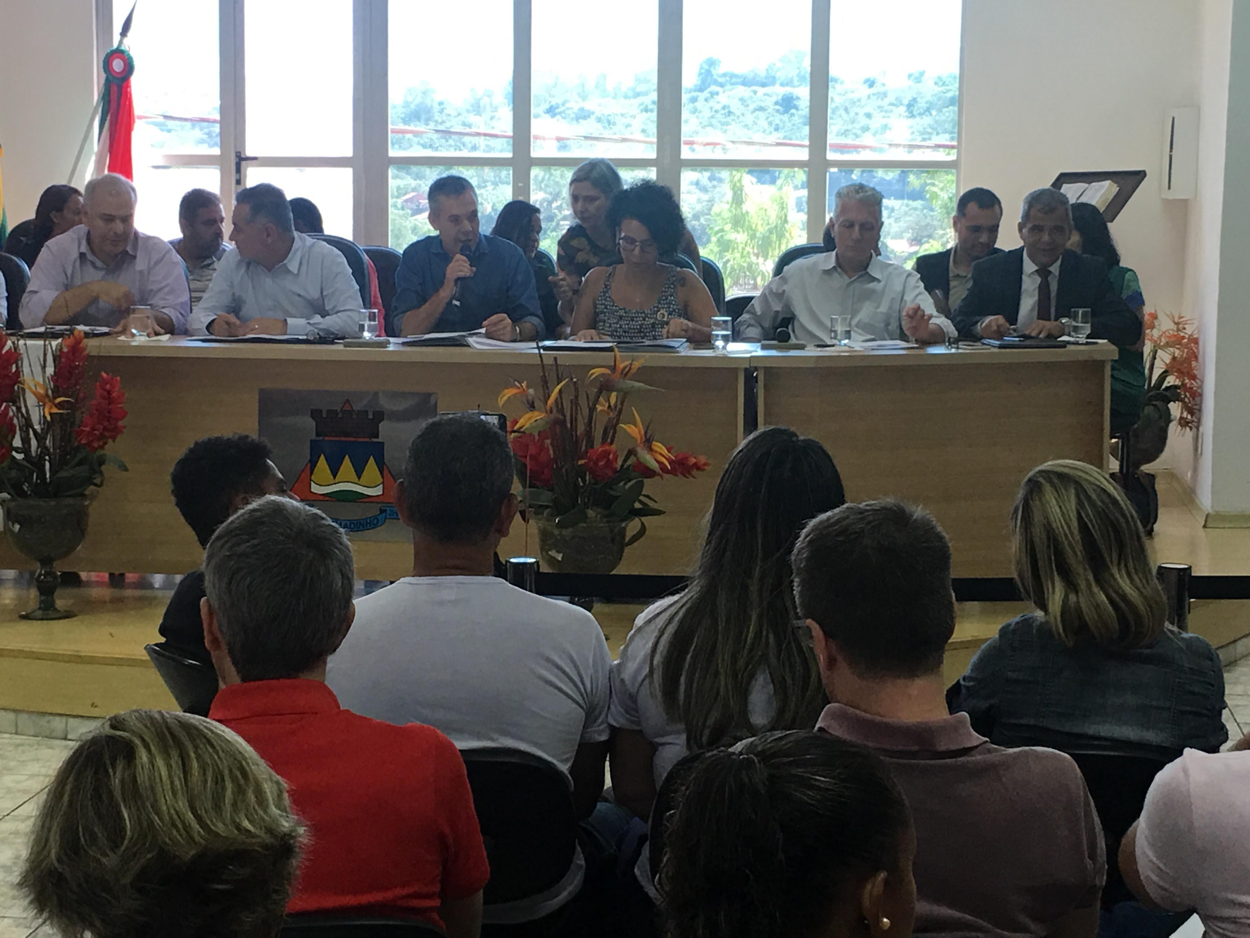 Fotos do Dia - reunião comissão externa de Brumadinho rompimento barragem
