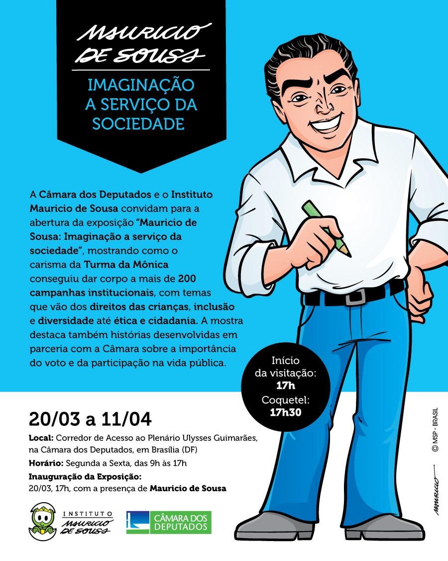 Exposição Mauricio de Souza