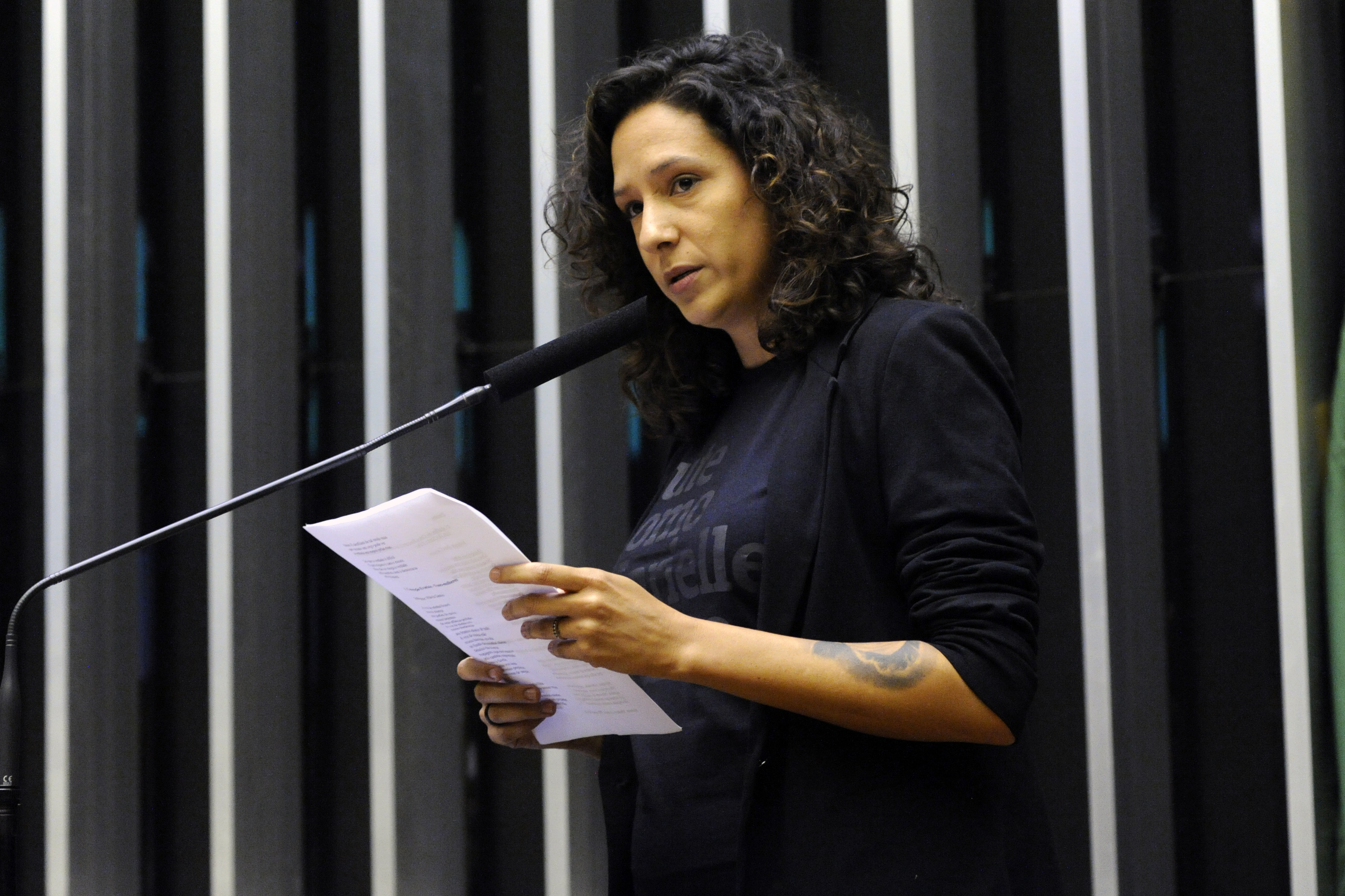Homenagem ao Dia Internacional do Direito à Verdade. Apresentação da poesia