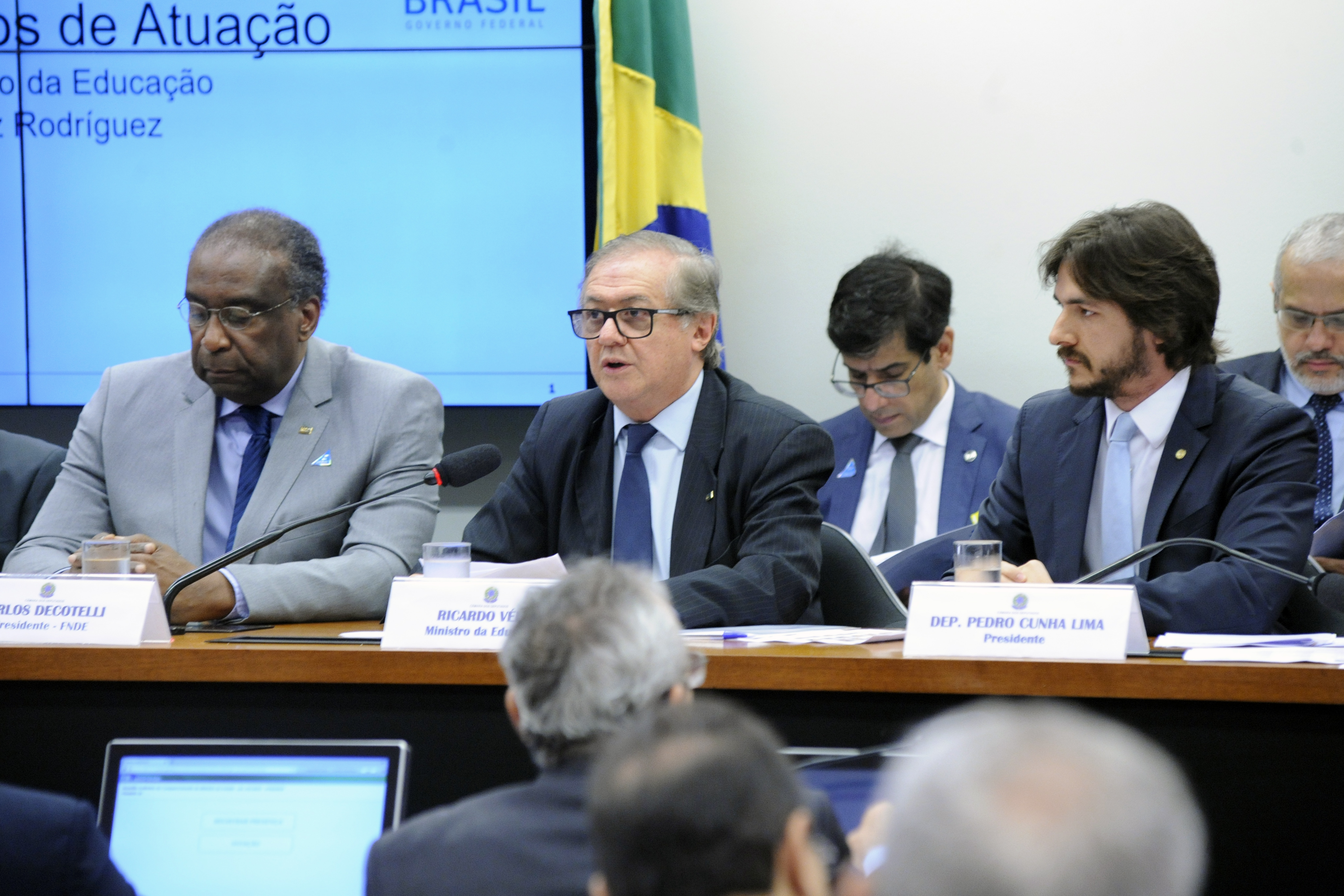 Reunião ordinária com o ministro da Educação, Ricardo Vélez Rodrígues
