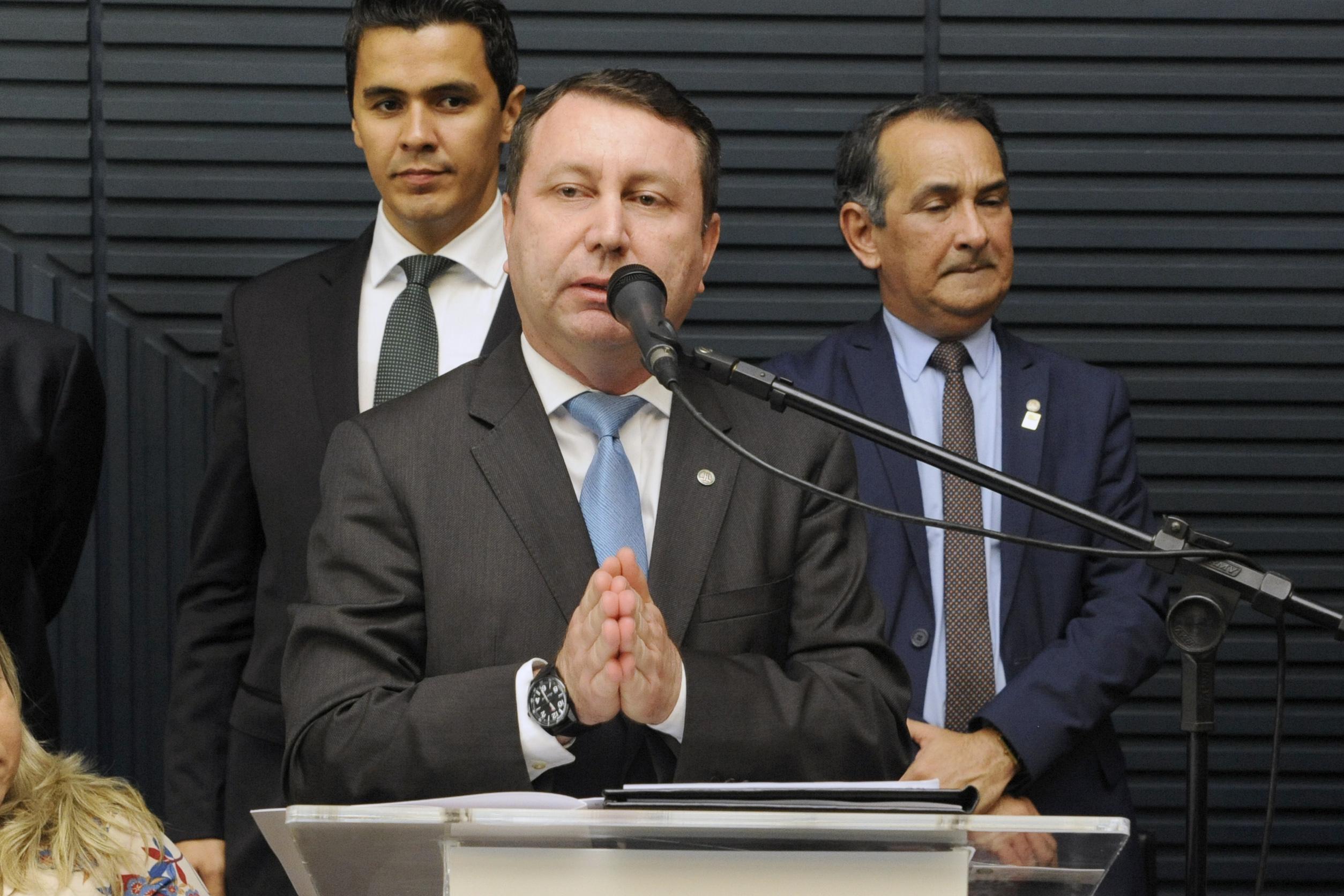 Lançamento da frente. Dep. David Soares (DEM - SP)