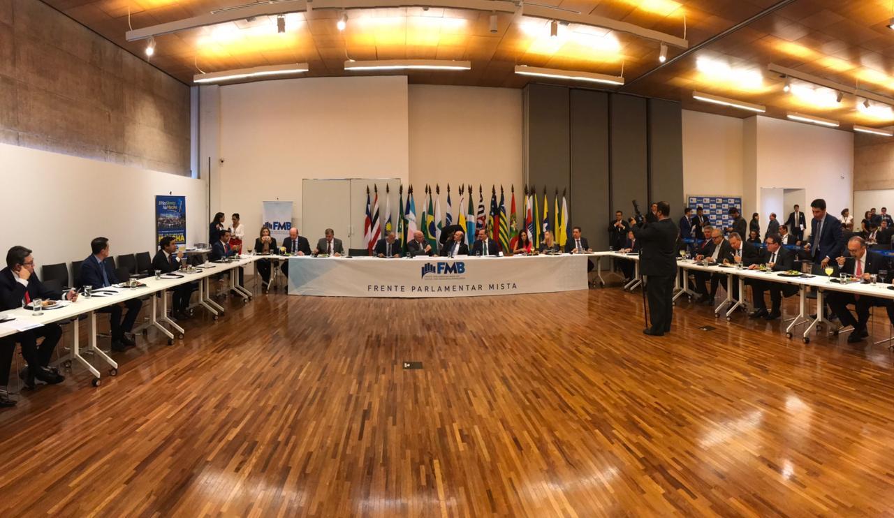 Fotos do Dia - Reunião da Frente Parlamentar Mista em Defesa dos Municípios Brasileiros (27.03.19)