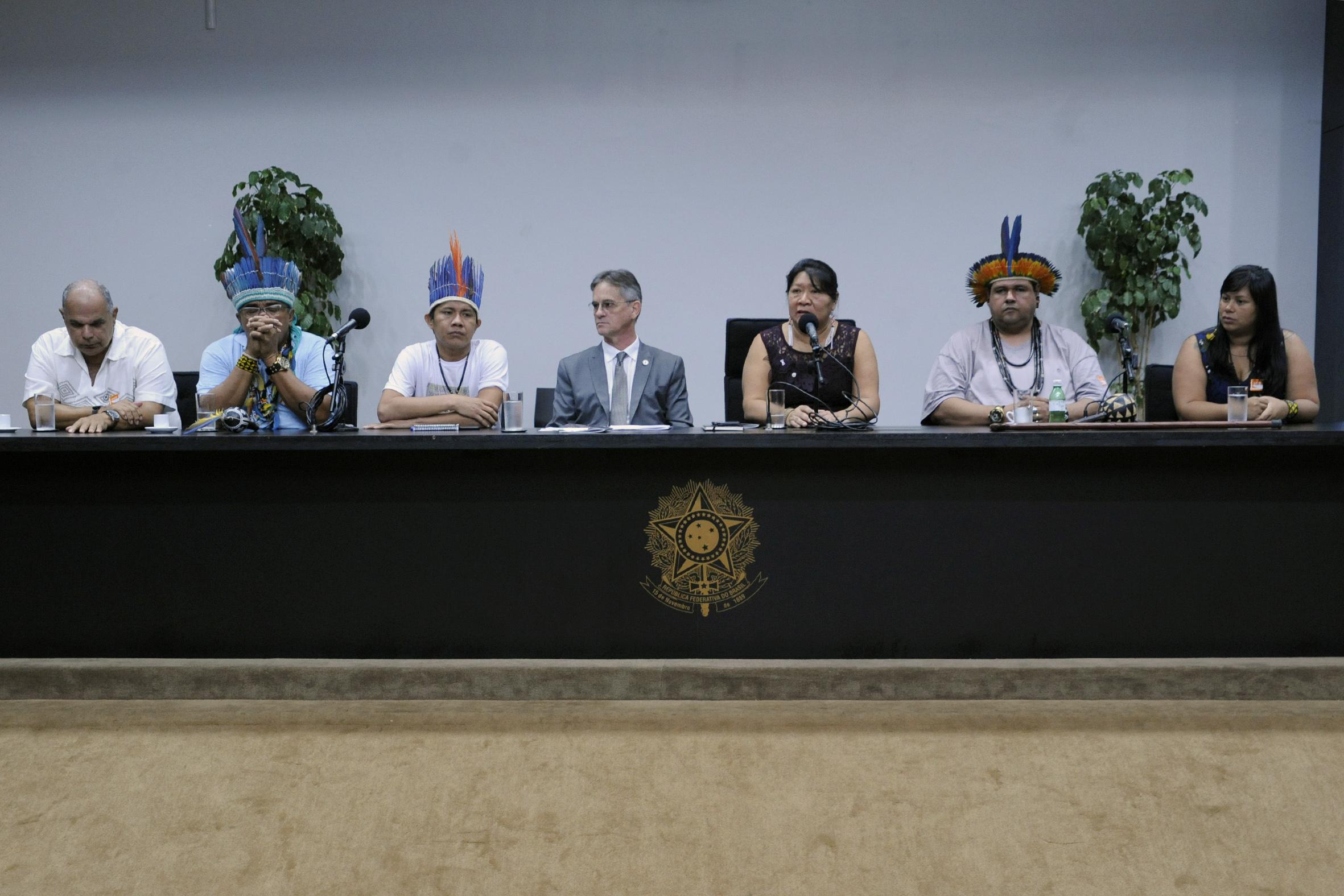 Lançamento da 6ª Conferência Nacional de Saúde Indígena