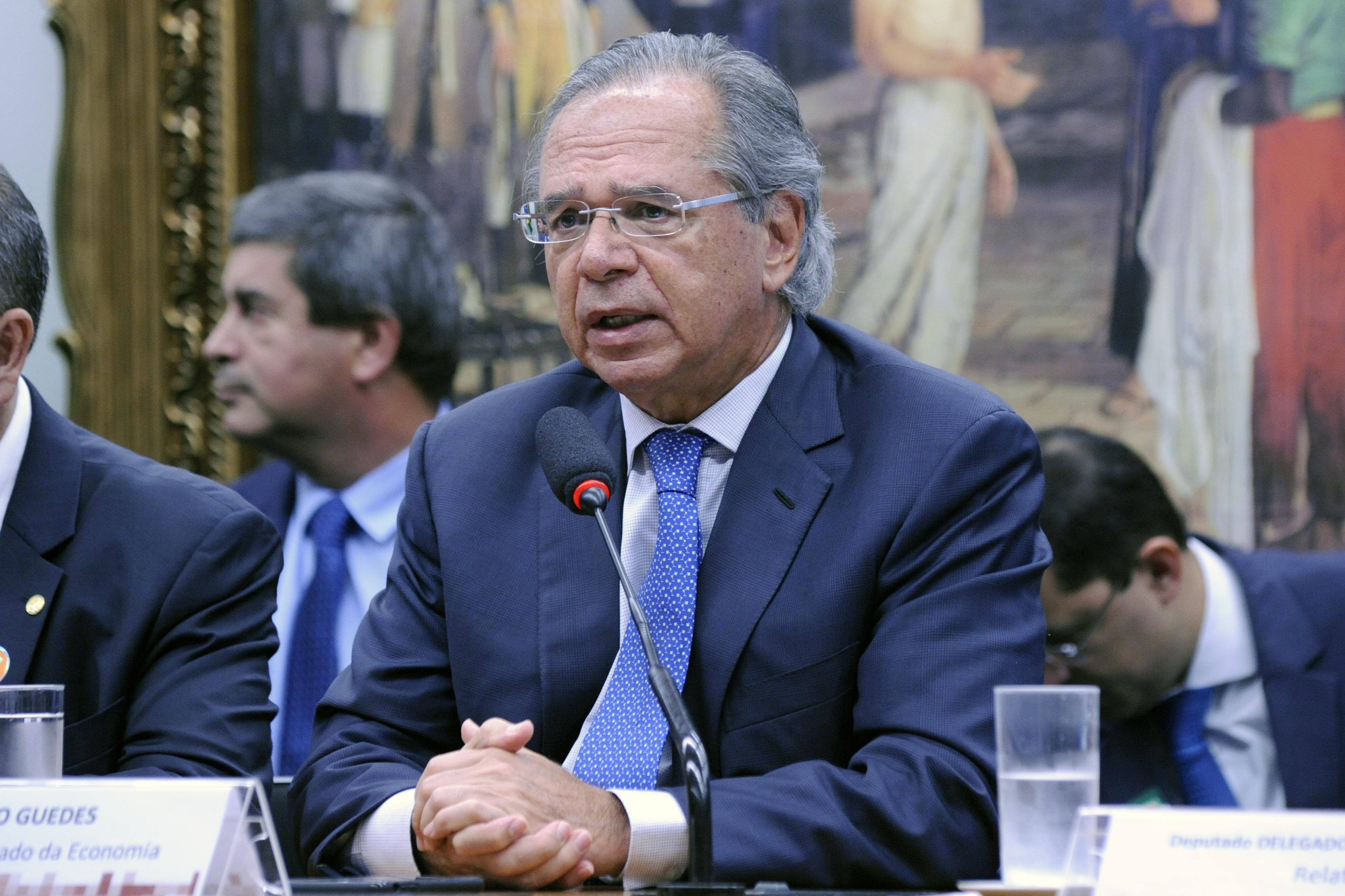 Audiência pública sobre a reforma da Previdência. Ministro da Economia do Brasil, Paulo Guedes